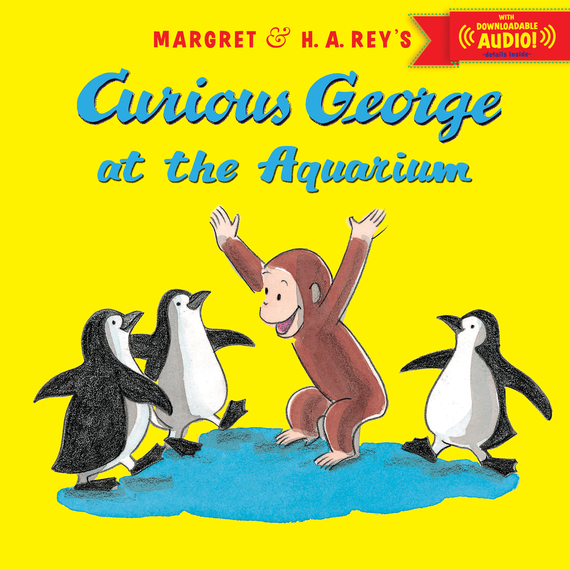 Curious George at the Aquarium with downloadable audio-9780544176744
