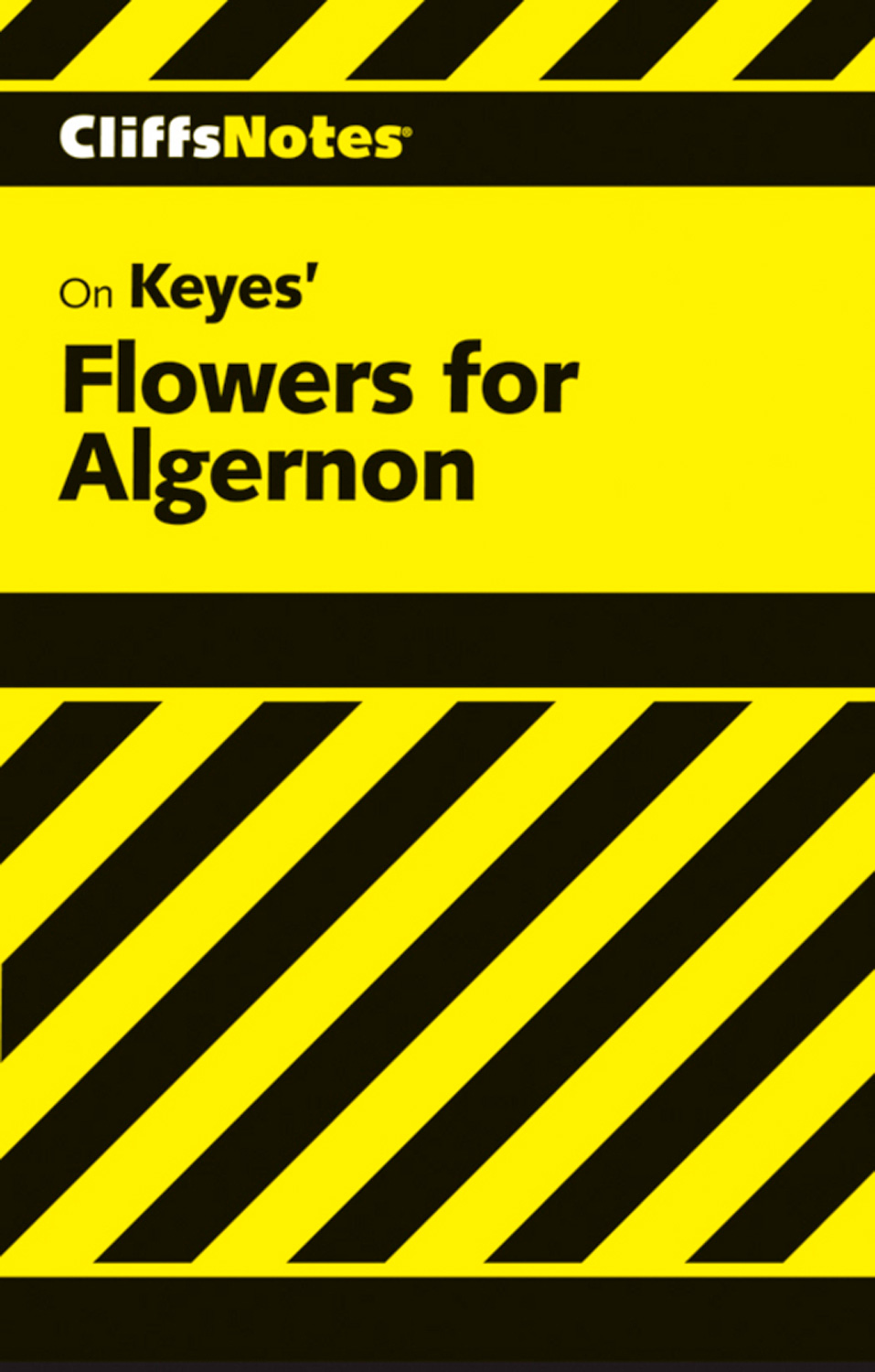 CliffsNotes on Keyes' Flowers For Algernon-9780544181540