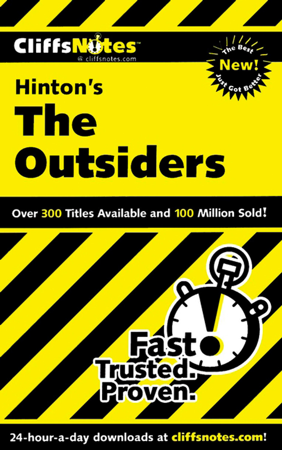CliffsNotes on Hinton's The Outsiders-9780544183162