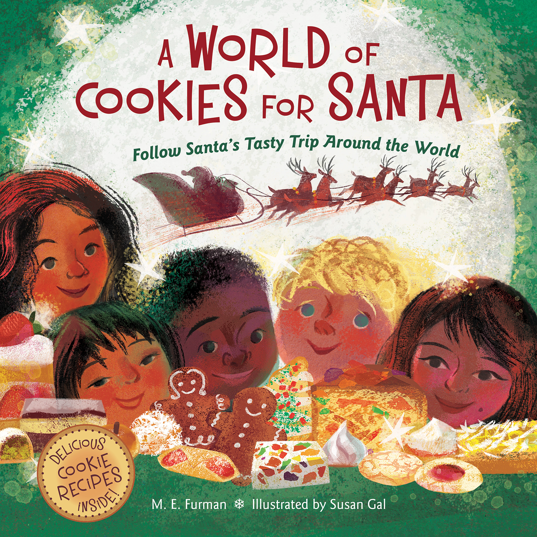 A World of Cookies for Santa-9780544226203