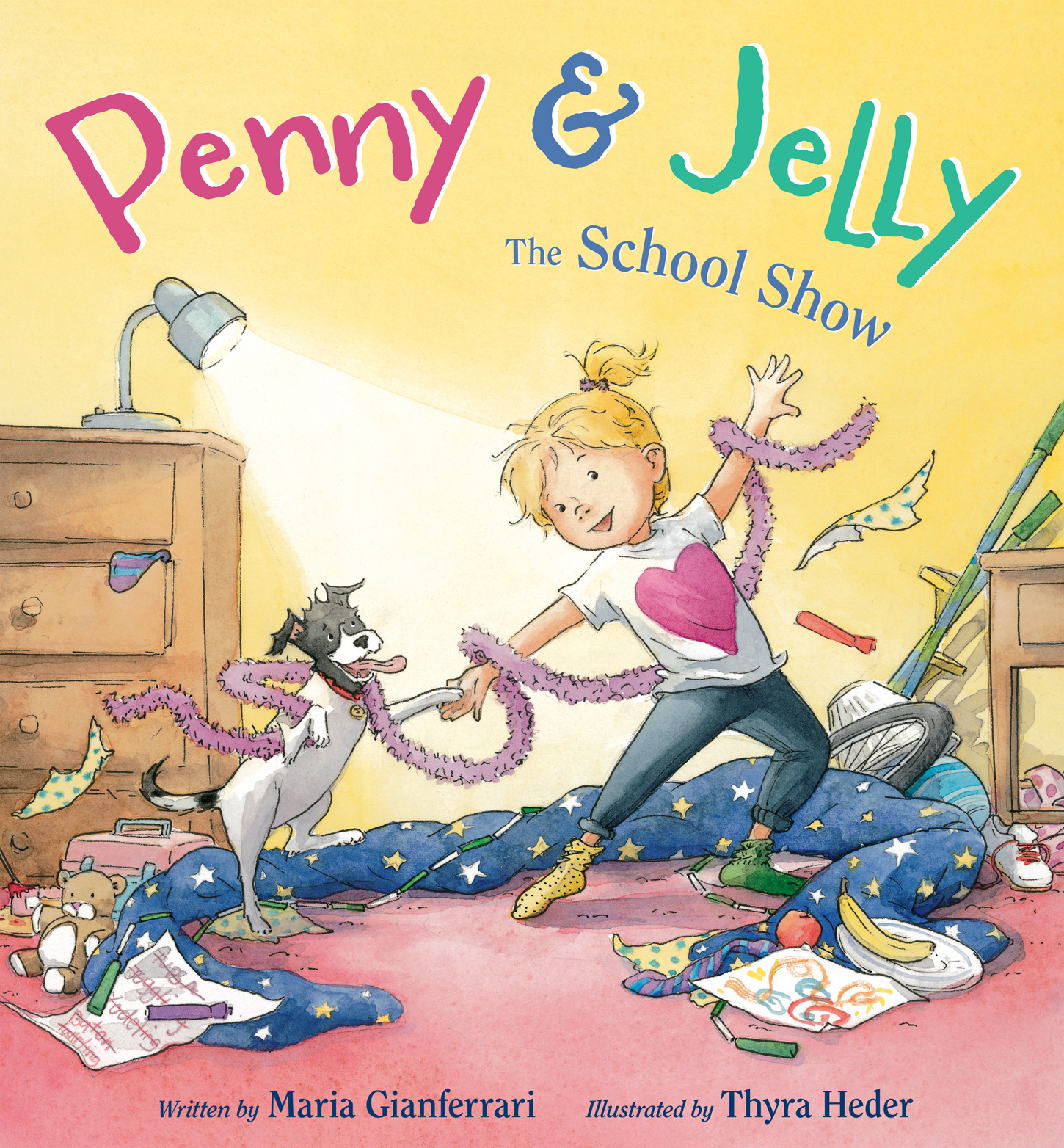 Penny & Jelly: The School Show-9780544230149