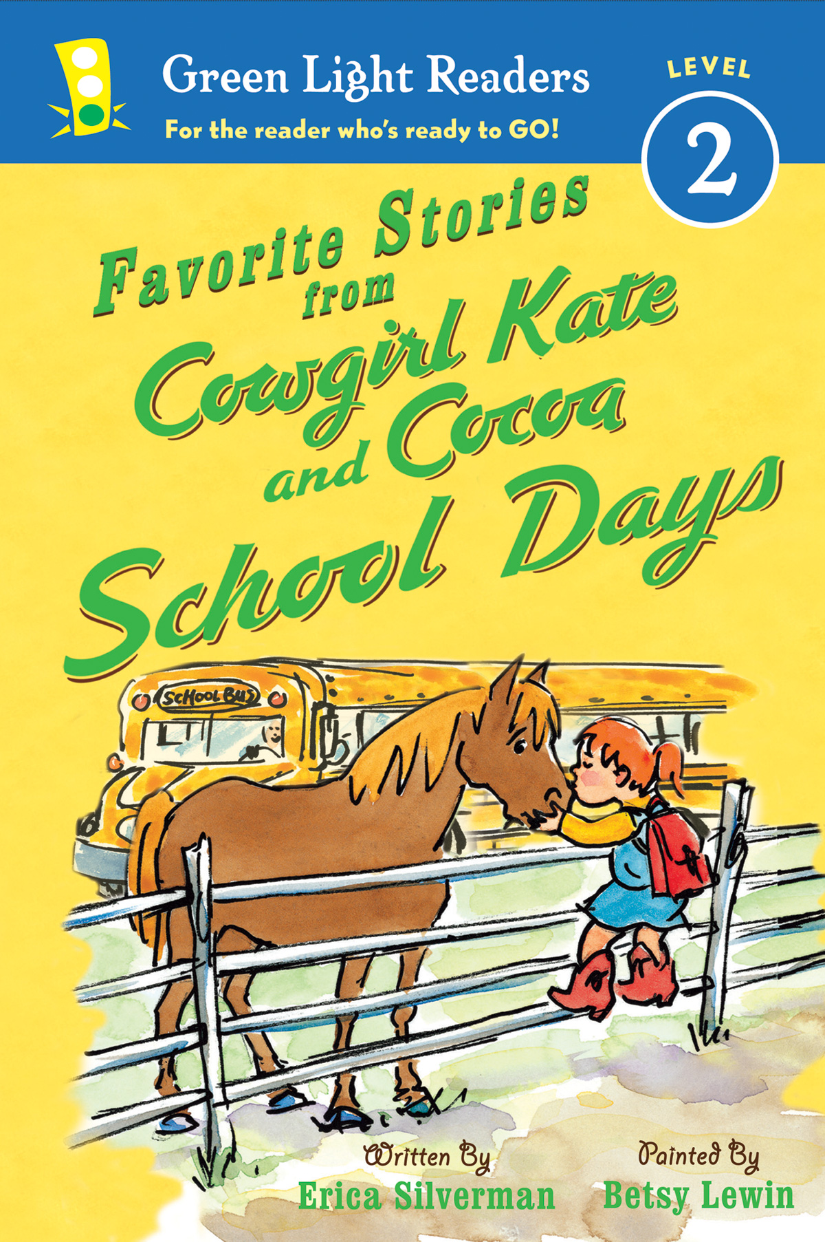 Favorite Stories from Cowgirl Kate and Cocoa: School Days-9780544230217