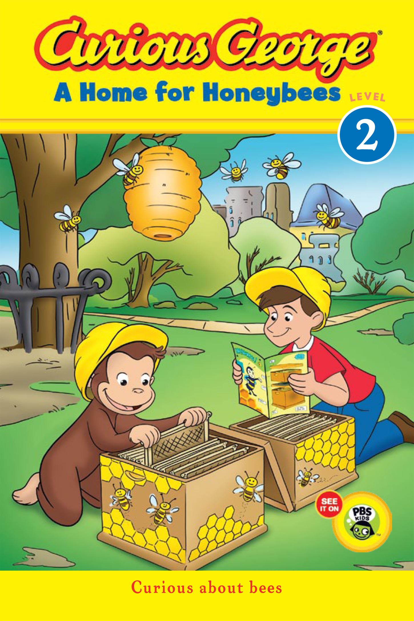 Curious George A Home for Honeybees (CGTV Early Reader)-9780544237919