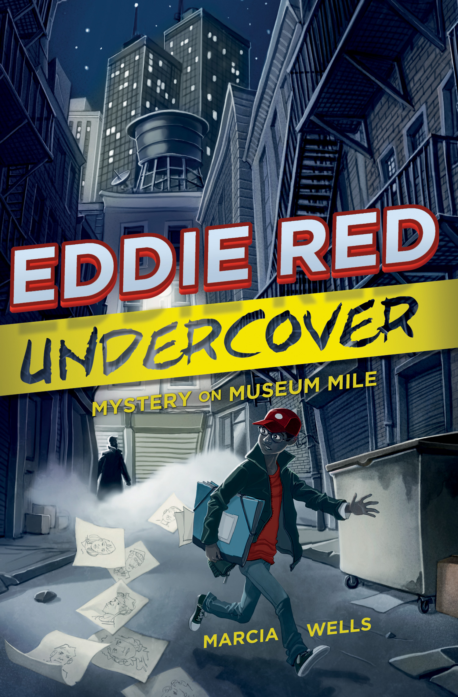Eddie Red Undercover: Mystery on Museum Mile-9780544238336