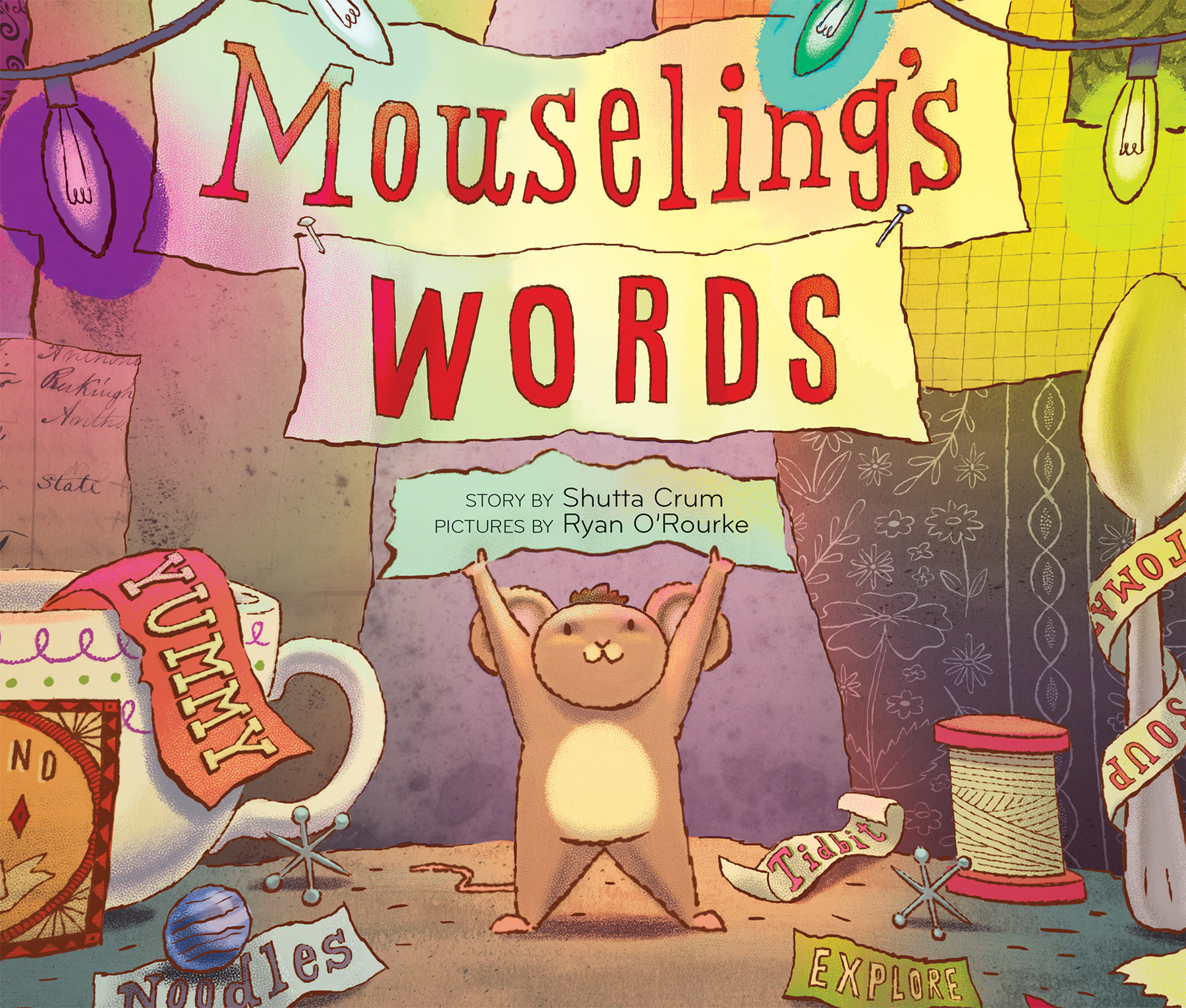 Mouseling's Words-9780544302167