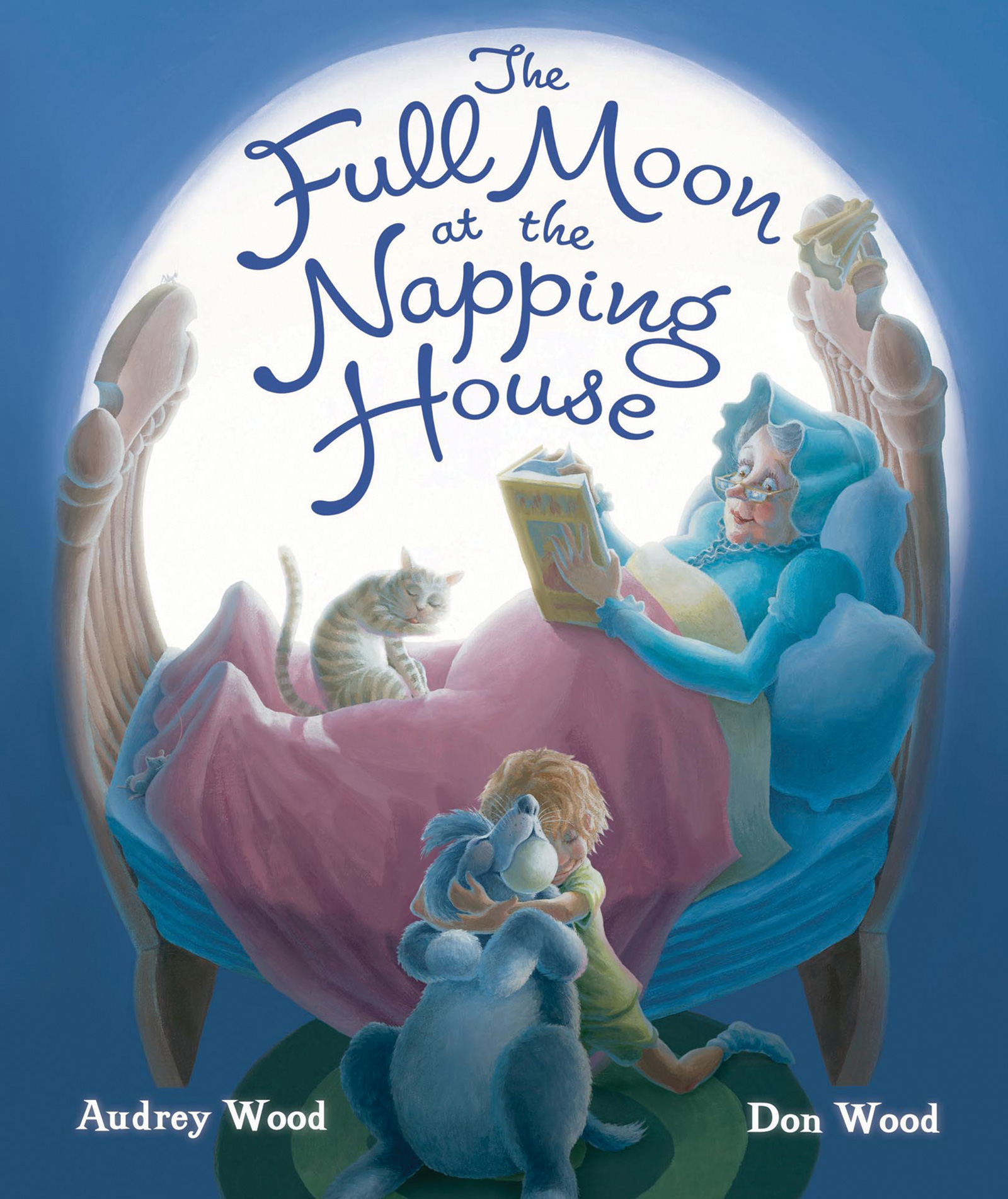 The Full Moon at the Napping House-9780544308329
