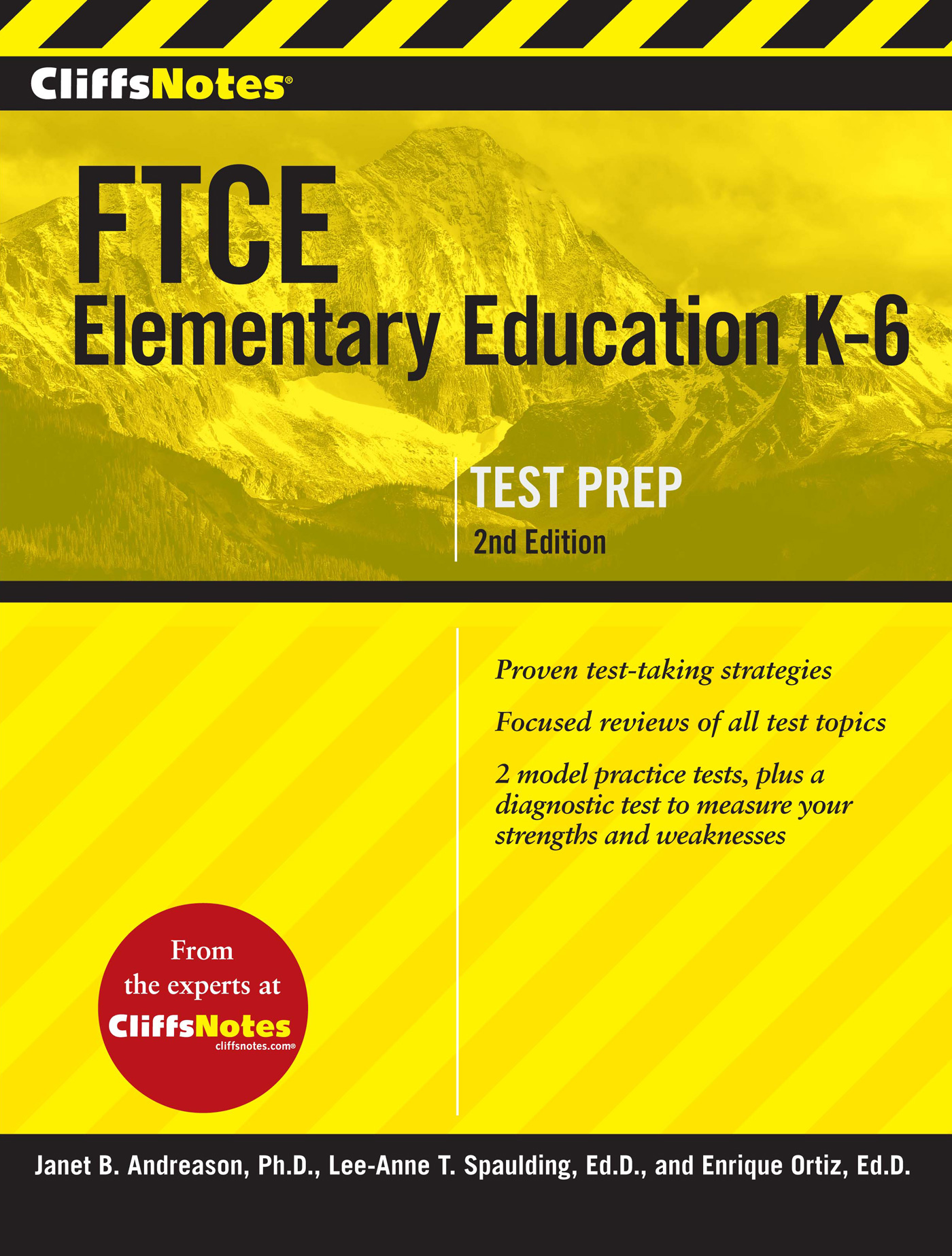 CliffsNotes FTCE Elementary Education K-6, 2nd Edition-9780544313538