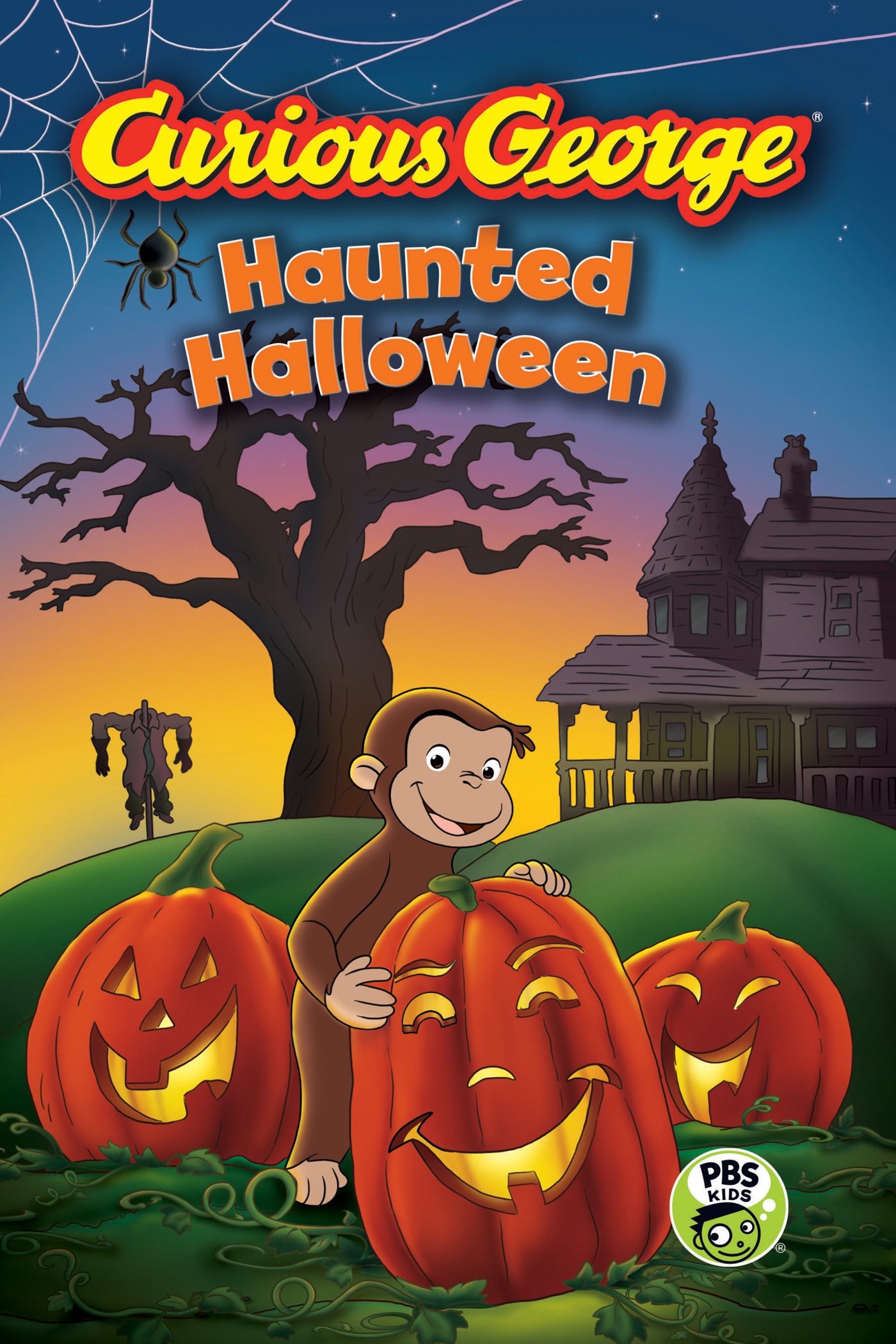 Curious George Haunted Halloween (CGTV Reader)-9780544320796