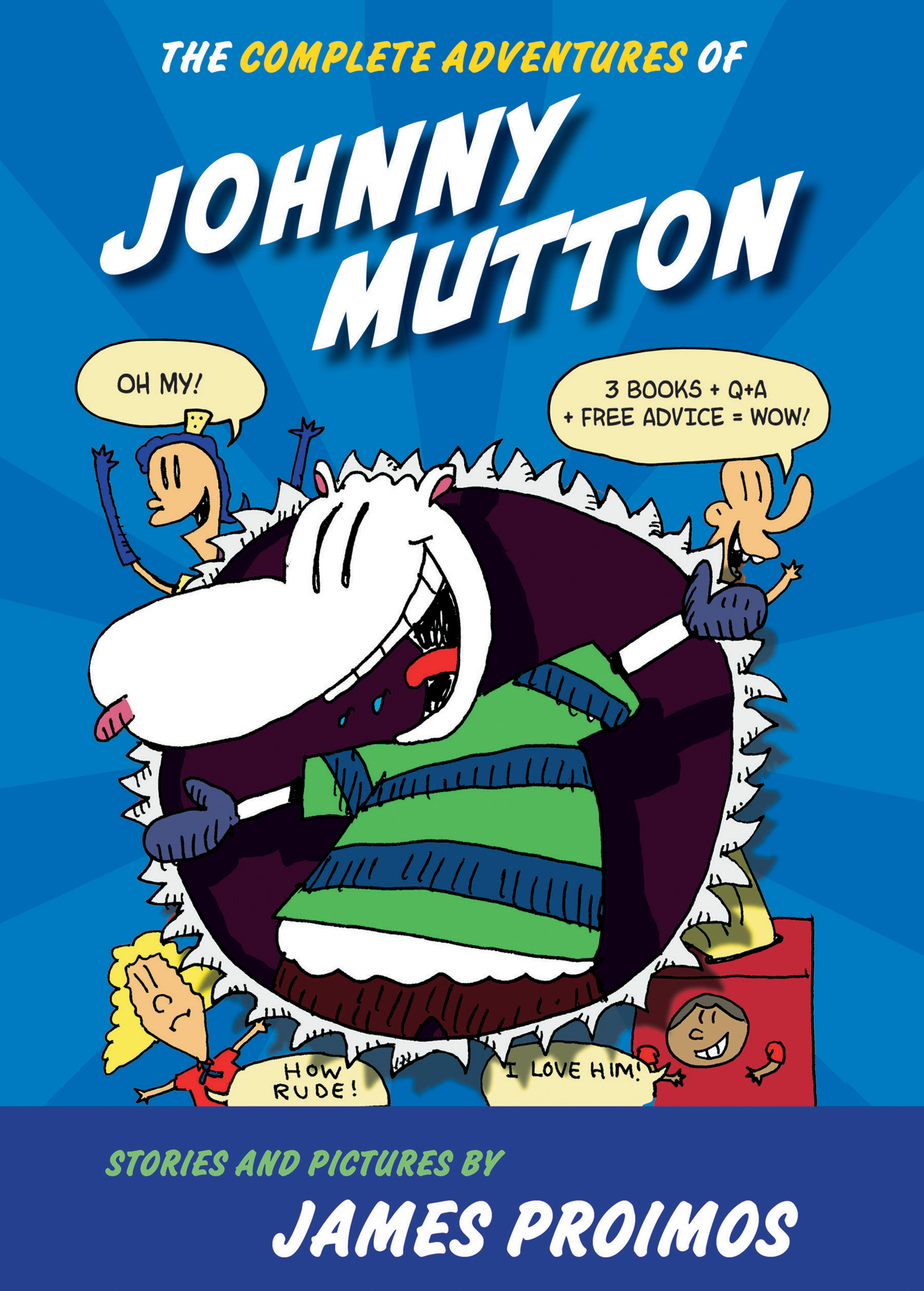 The Complete Adventures of Johnny Mutton-9780544324046