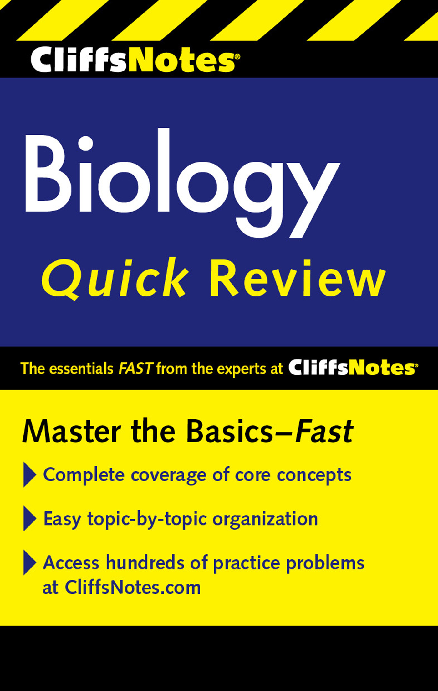 CliffsNotes Biology Quick Review Second Edition-9780544331679