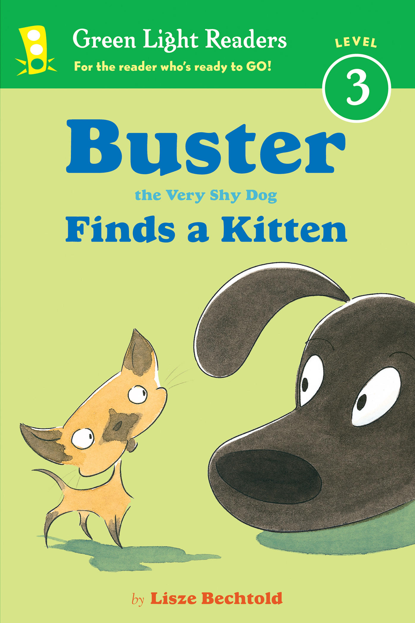 Buster the Very Shy Dog Finds a Kitten-9780544336056