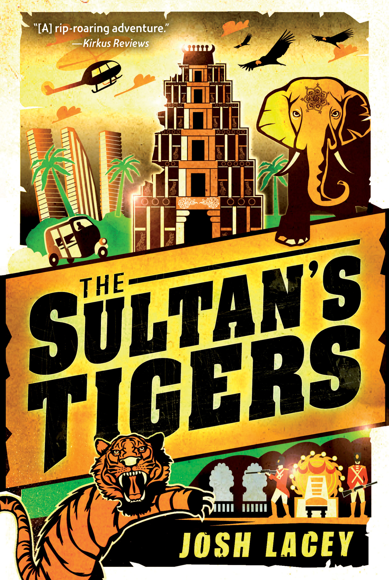 The Sultan's Tigers-9780544336292