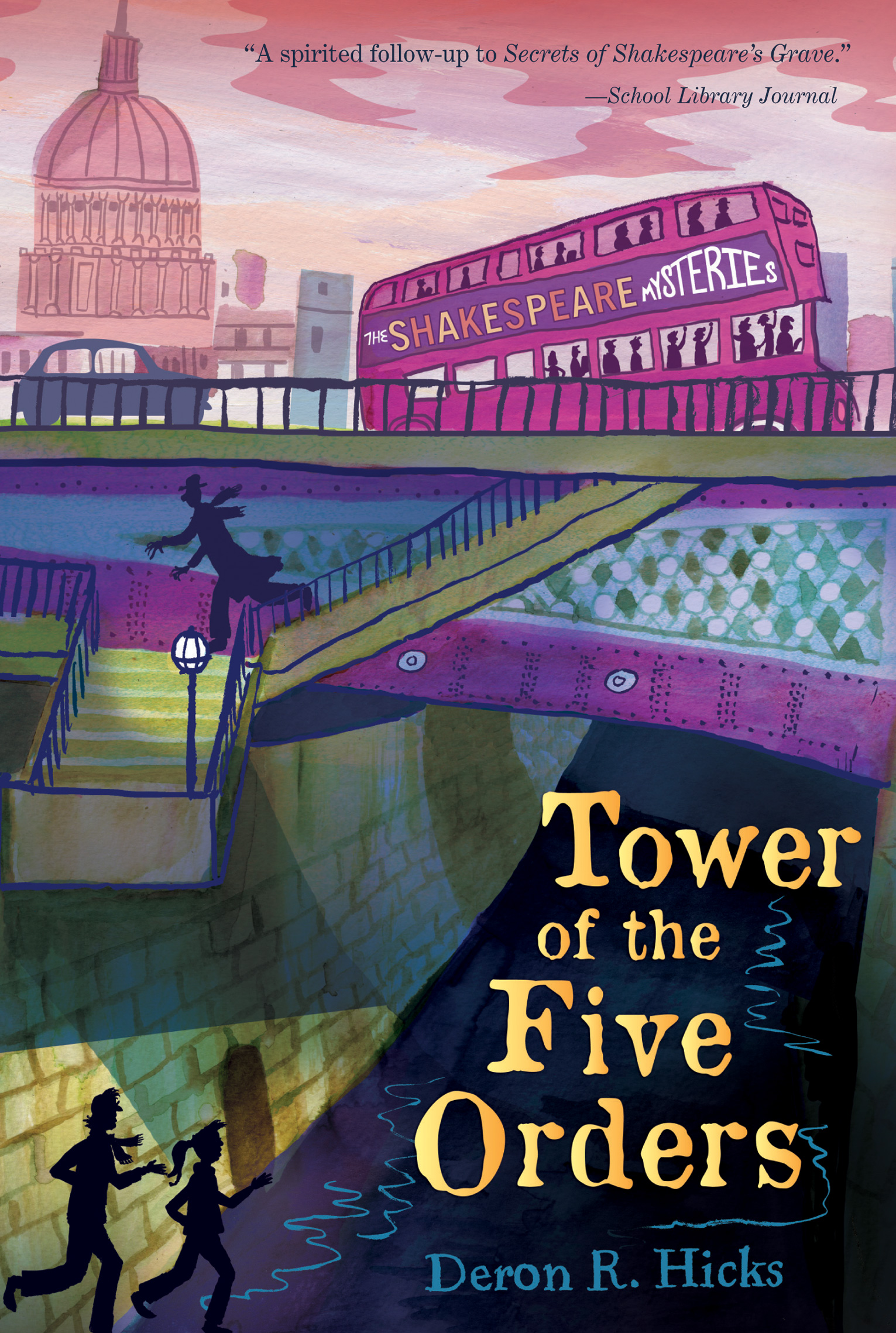 Tower of the Five Orders-9780544336308