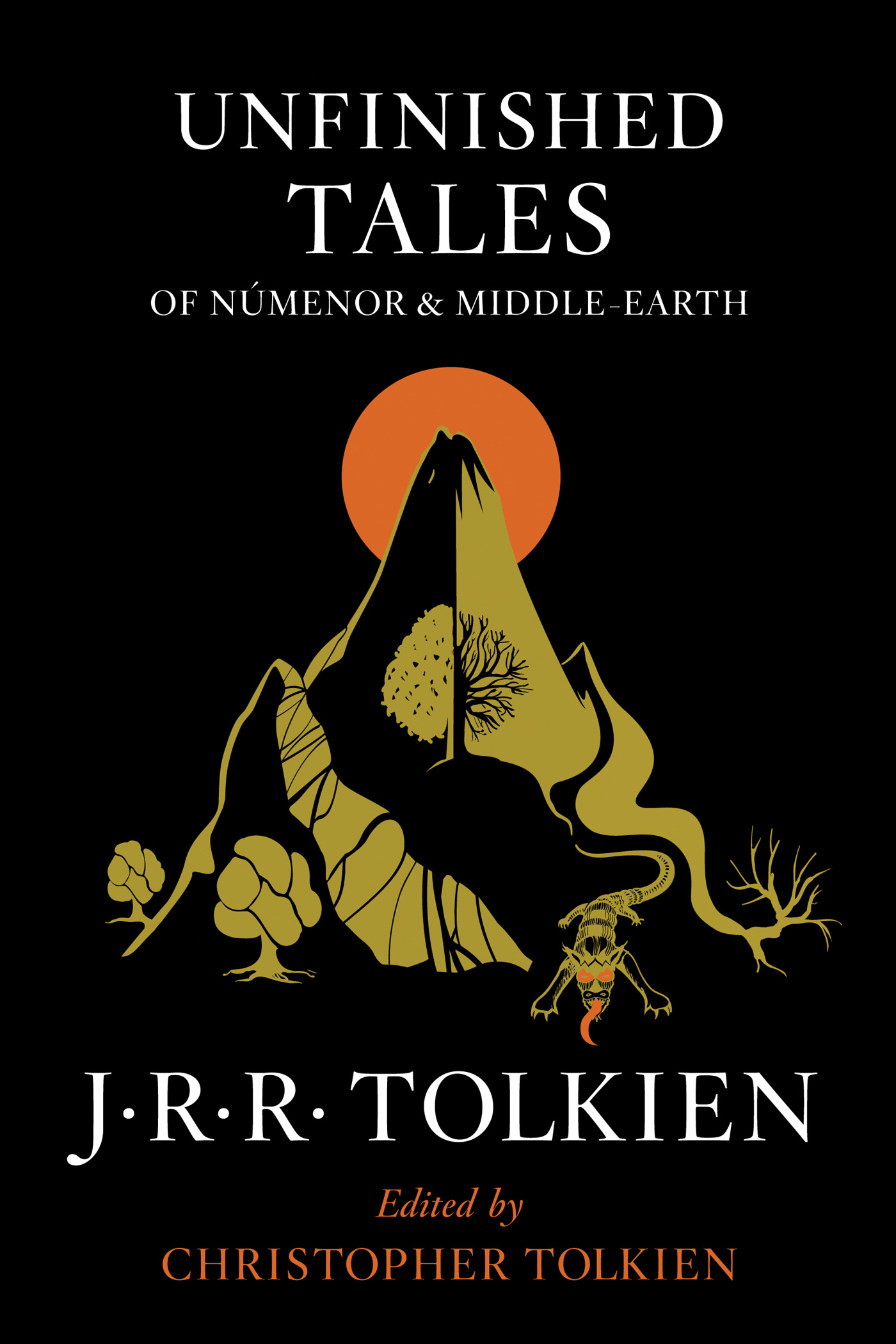 Unfinished Tales of Númenor and Middle-earth-9780544337992