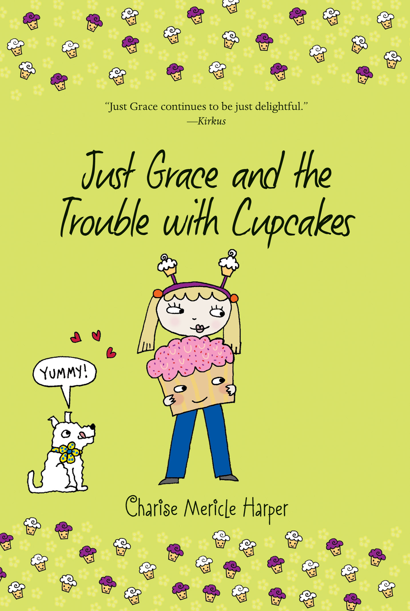 Just Grace and the Trouble with Cupcakes-9780544339101