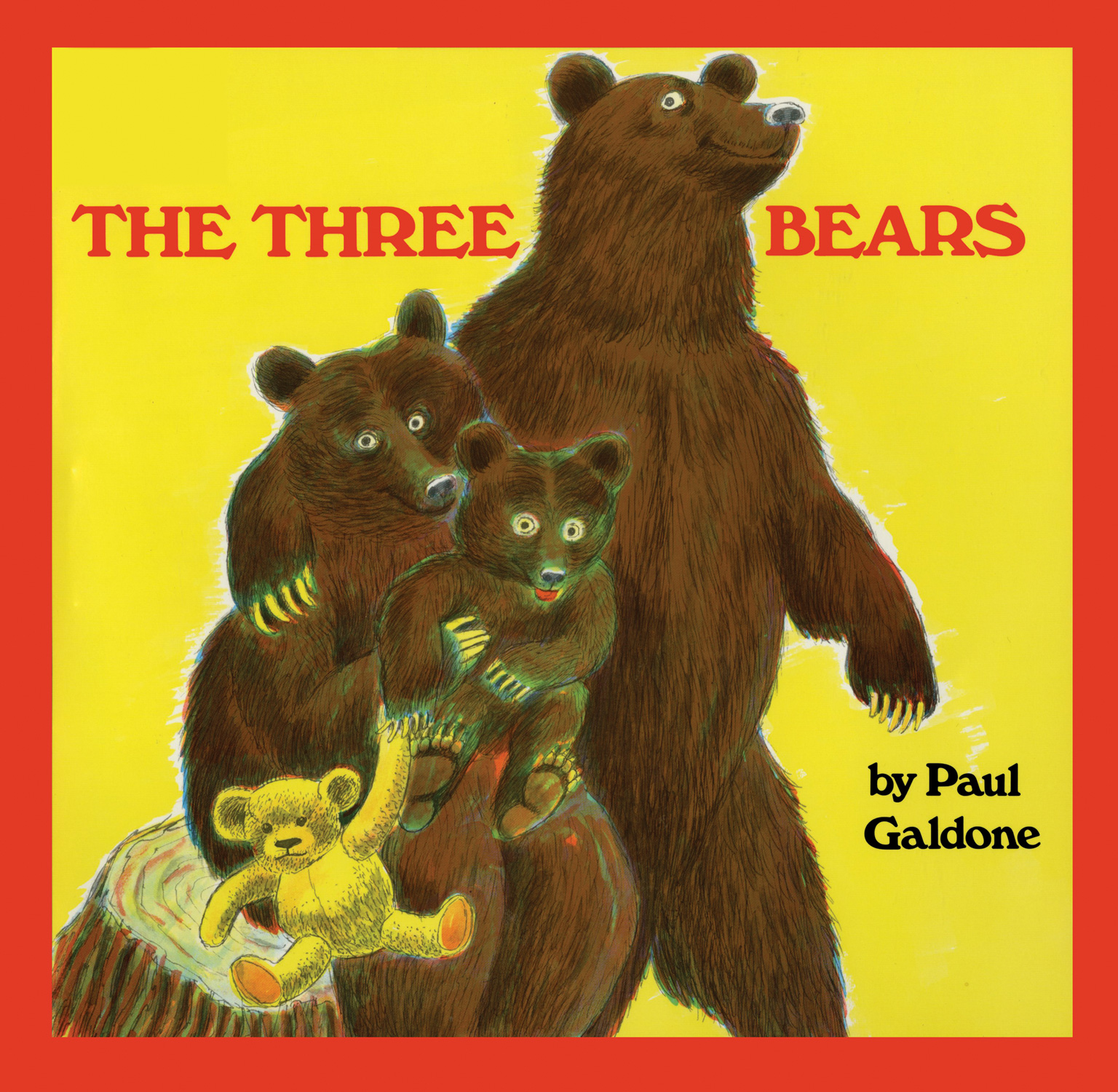 The Three Bears big book-9780544339132