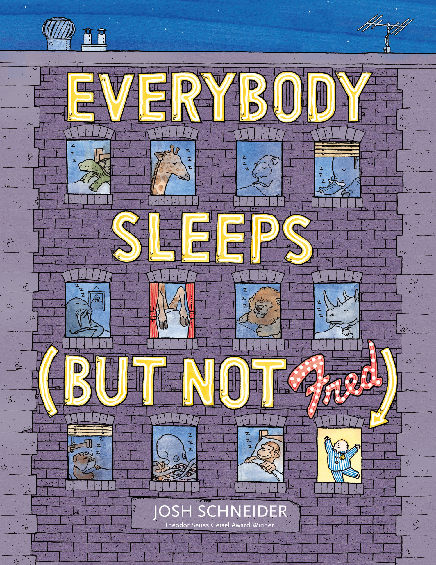 Everybody Sleeps (But Not Fred)-9780544339248