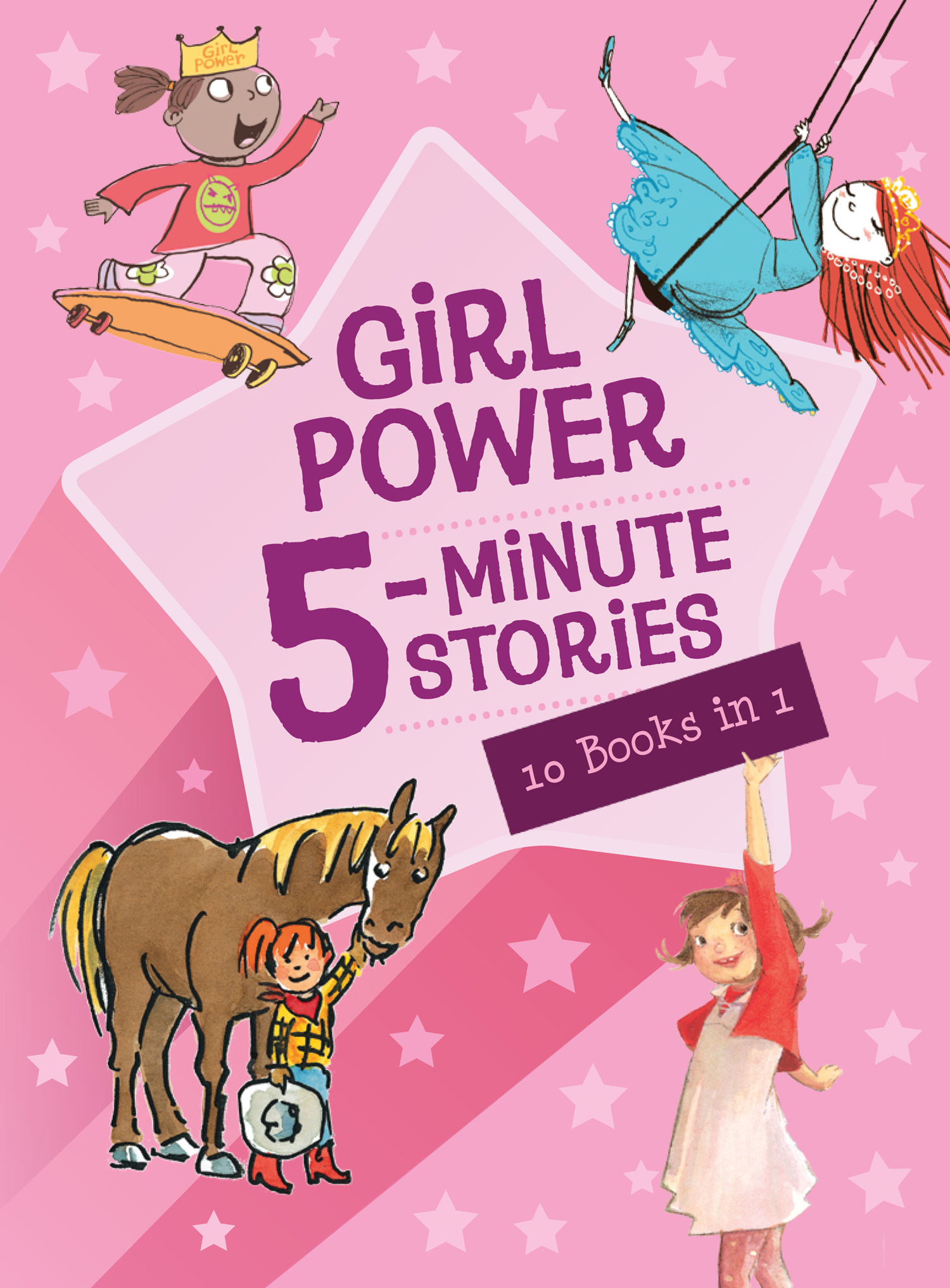 Girl Power 5-Minute Stories-9780544339255
