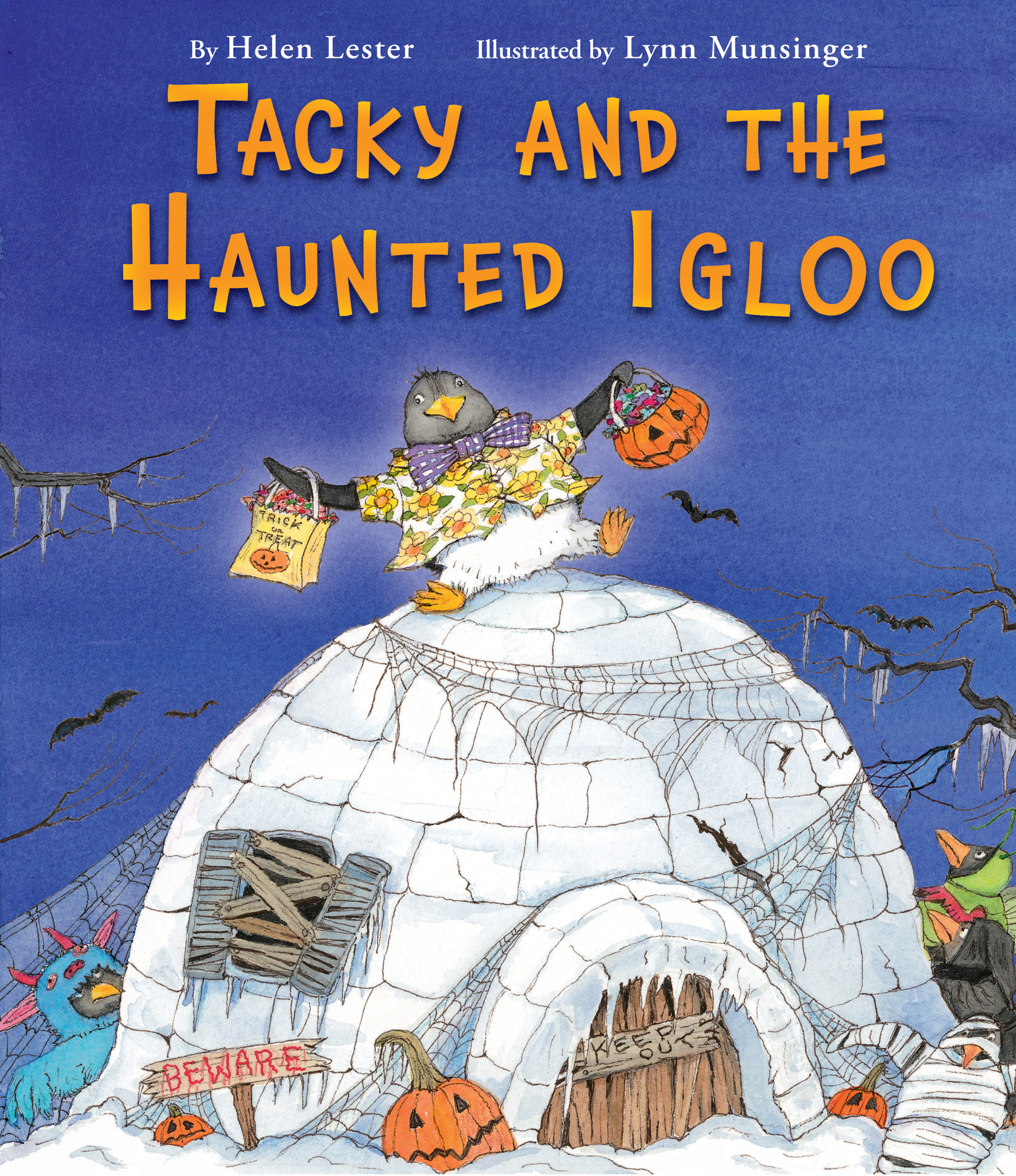 Tacky and the Haunted Igloo-9780544339941