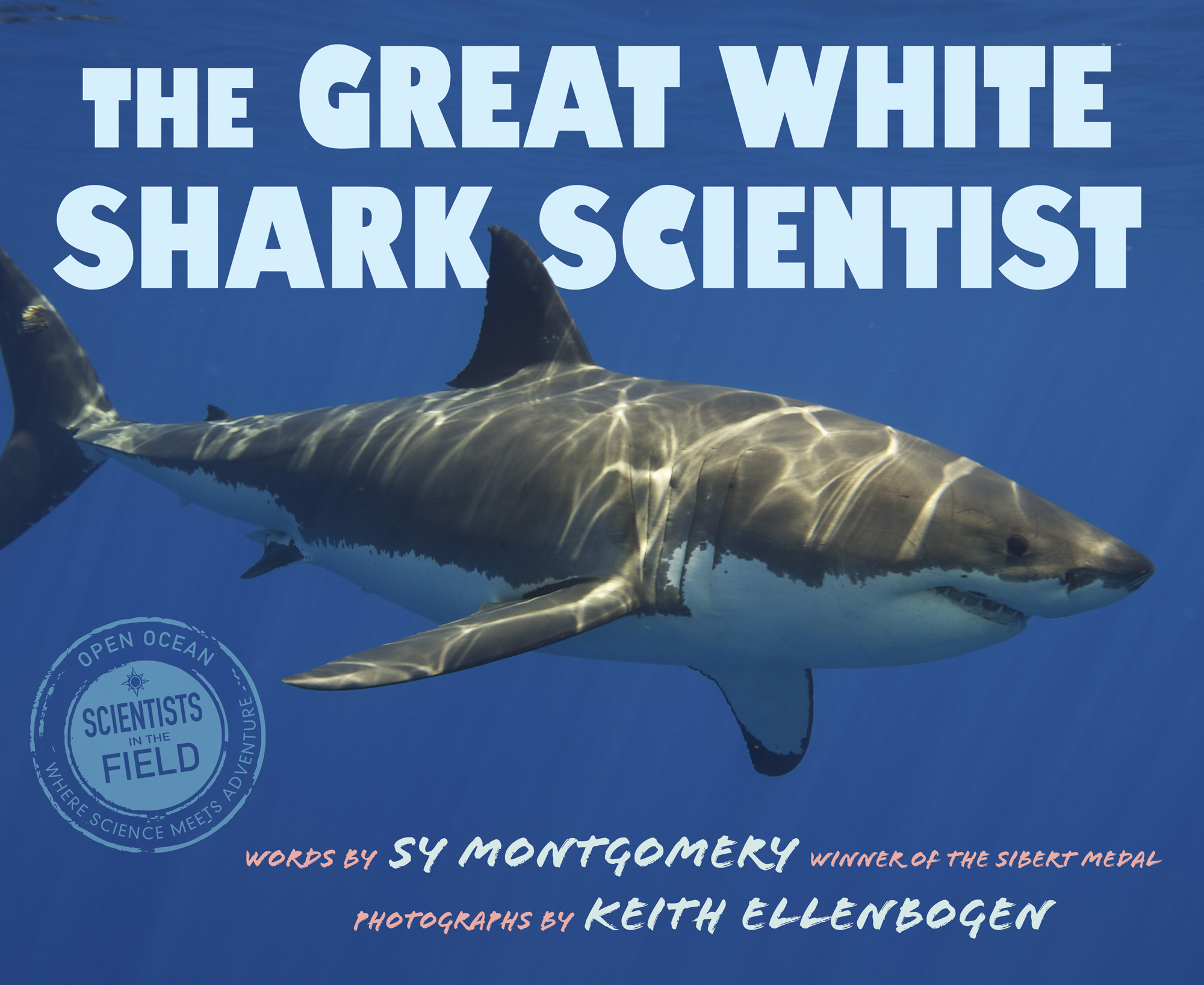The Great White Shark Scientist-9780544352988