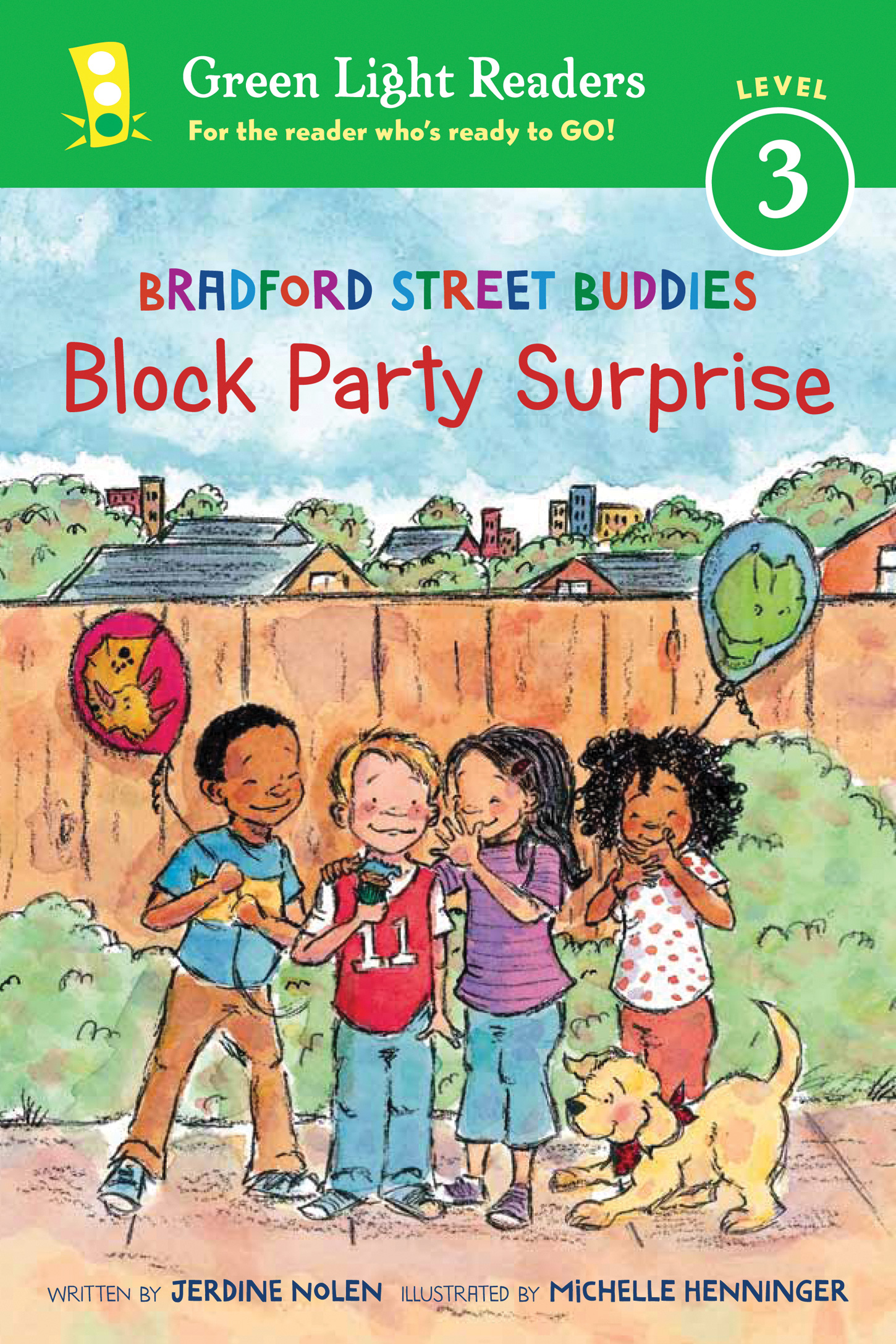 Bradford Street Buddies: Block Party Surprise-9780544358638