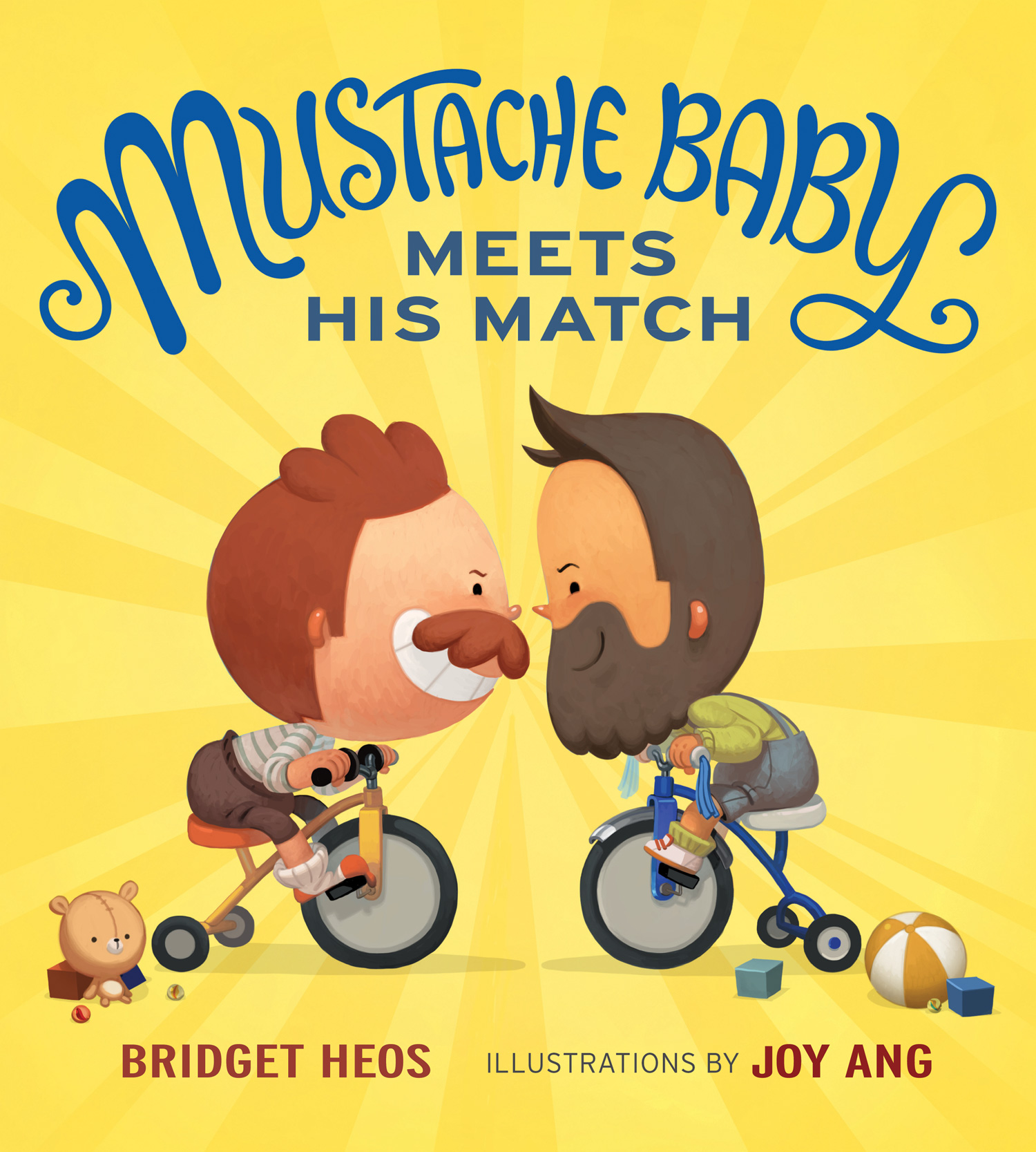 Mustache Baby Meets His Match-9780544363755
