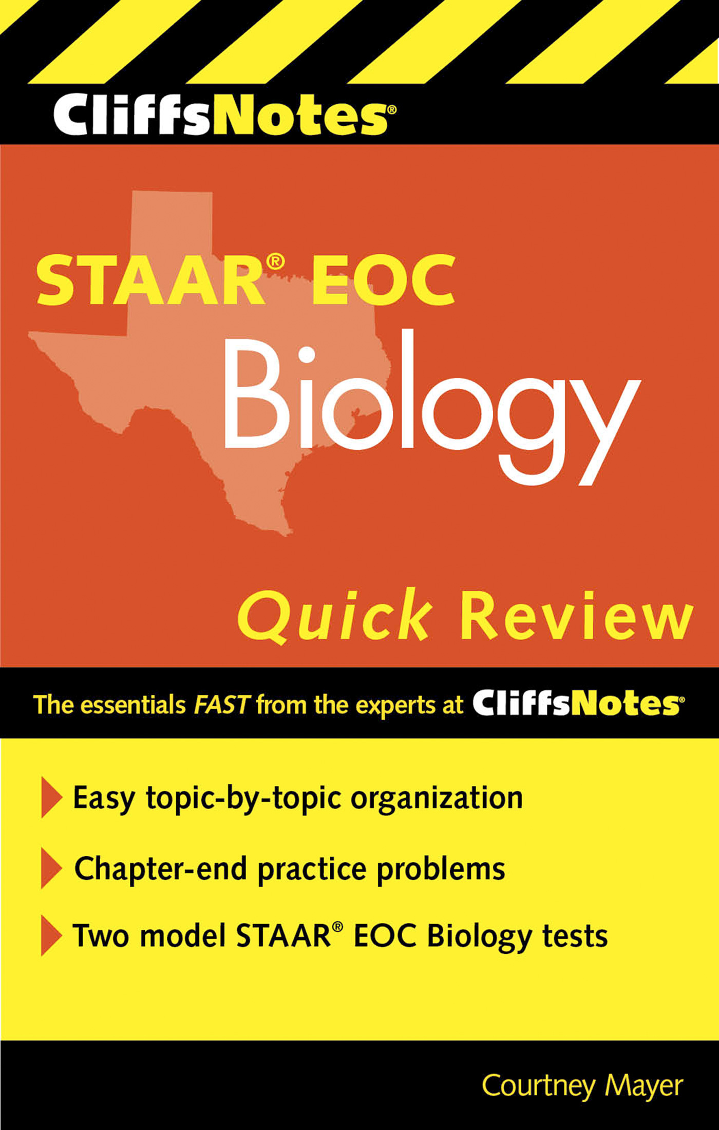 CliffsNotes STAAR EOC Biology Quick Review-9780544370128