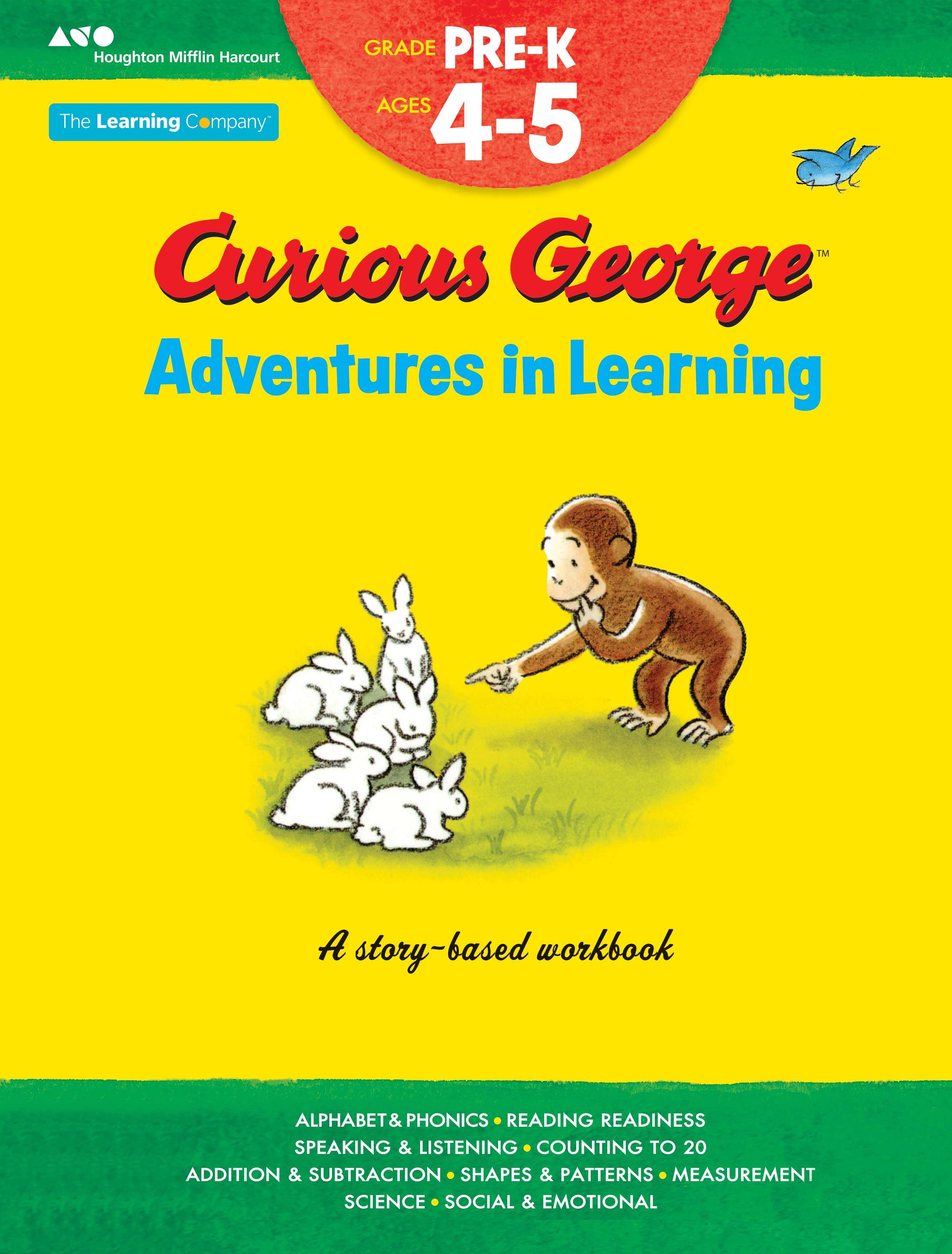Curious George Adventures in Learning, Pre-K-9780544372733