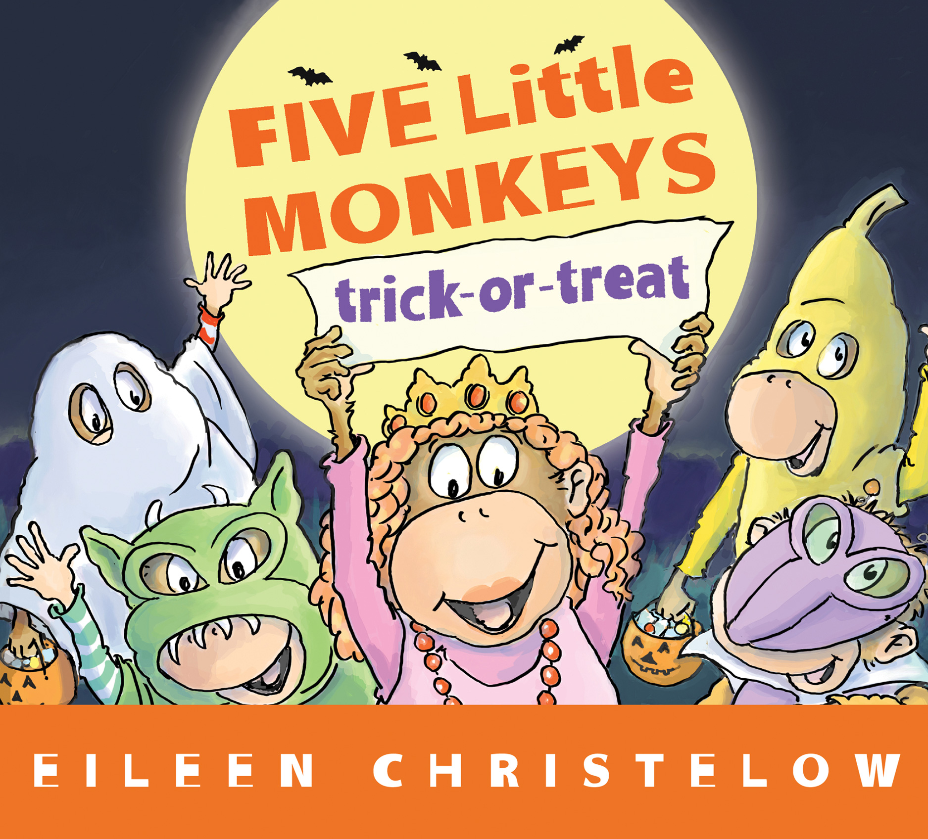 Five Little Monkeys Trick-or-Treat-9780544430624