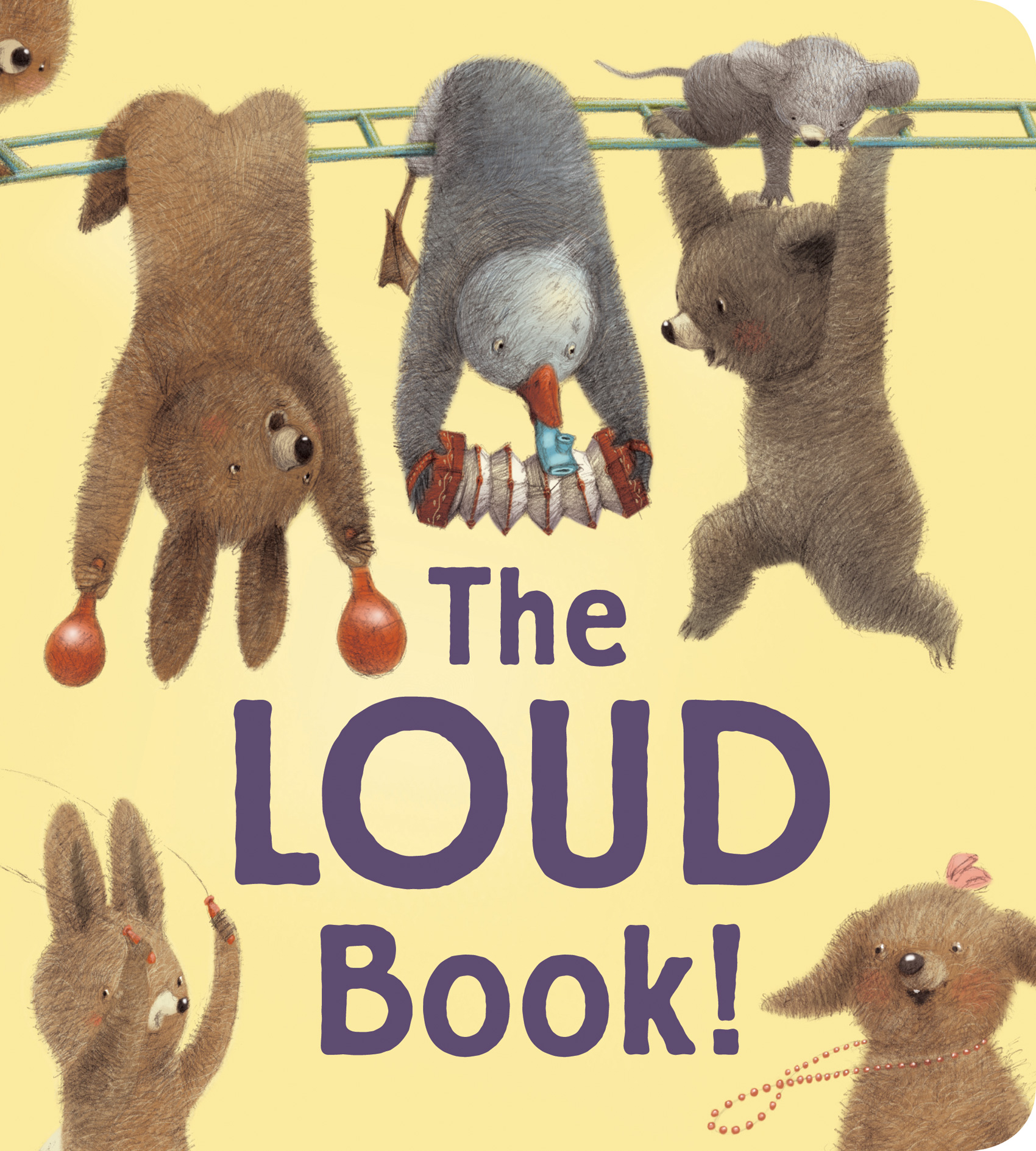The Loud Book! padded board book-9780544430648