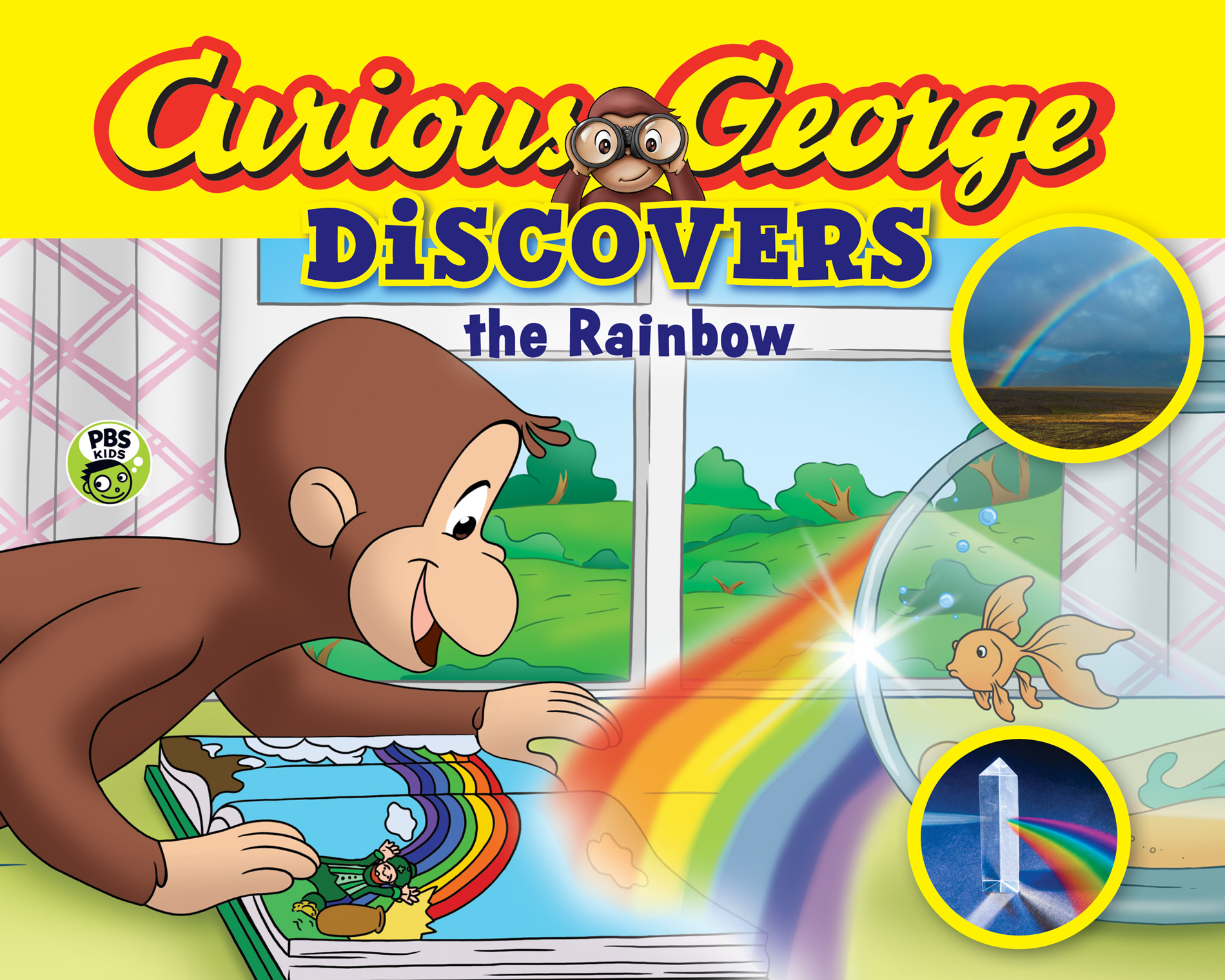 Curious George Discovers the Rainbow (Science Storybook)-9780544430686