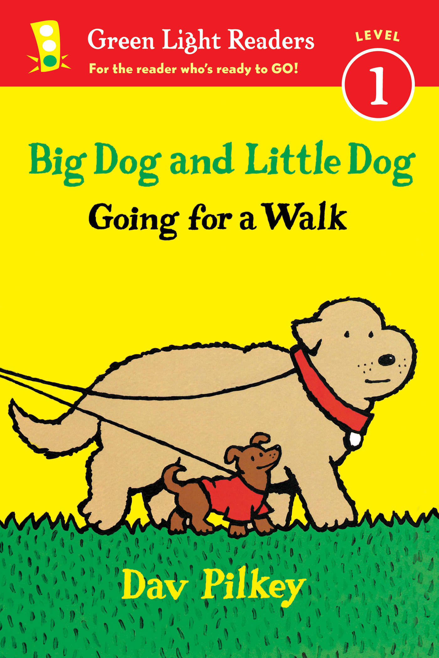 Big Dog and Little Dog Going for a Walk (Reader)-9780544430716