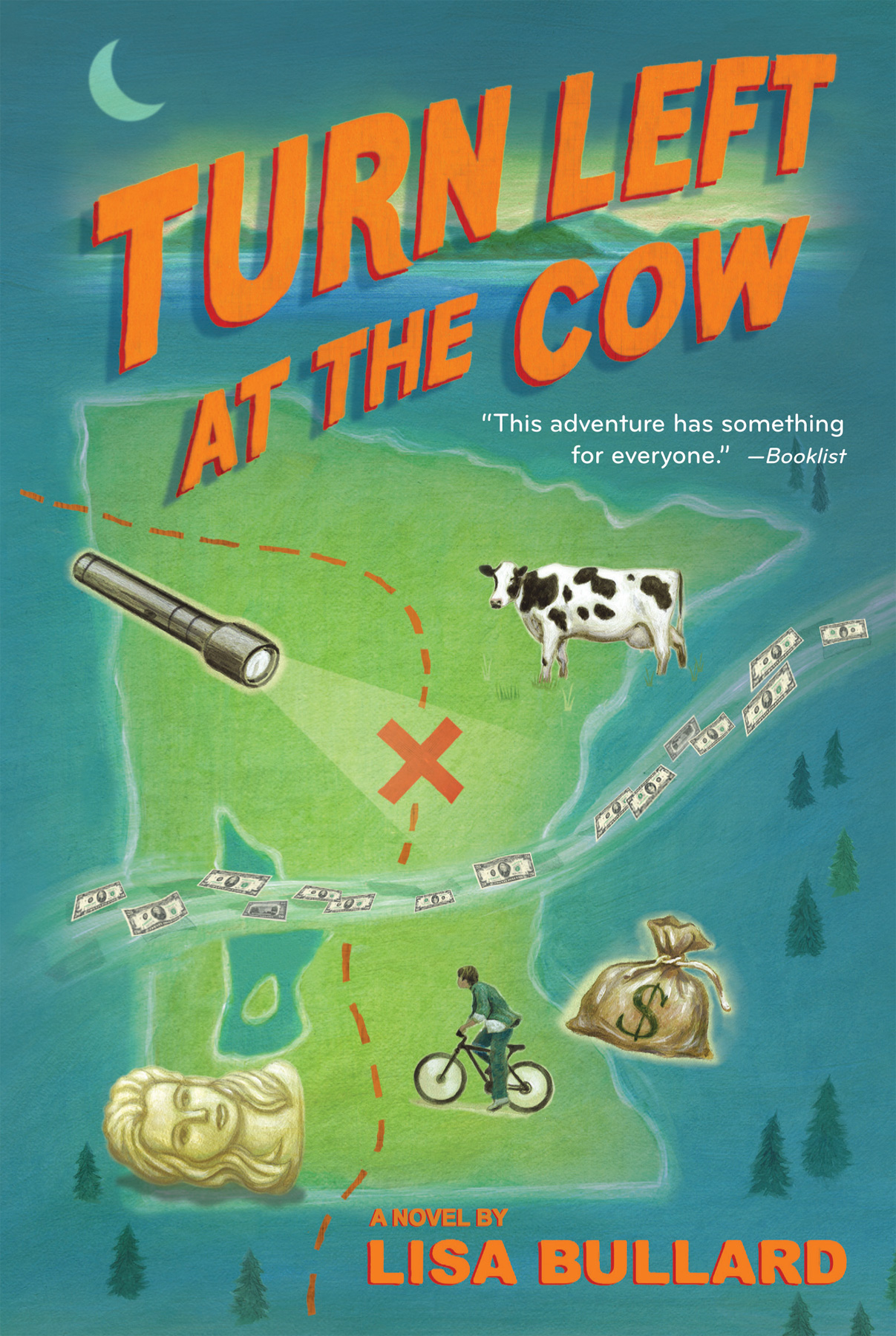 Turn Left at the Cow-9780544439184