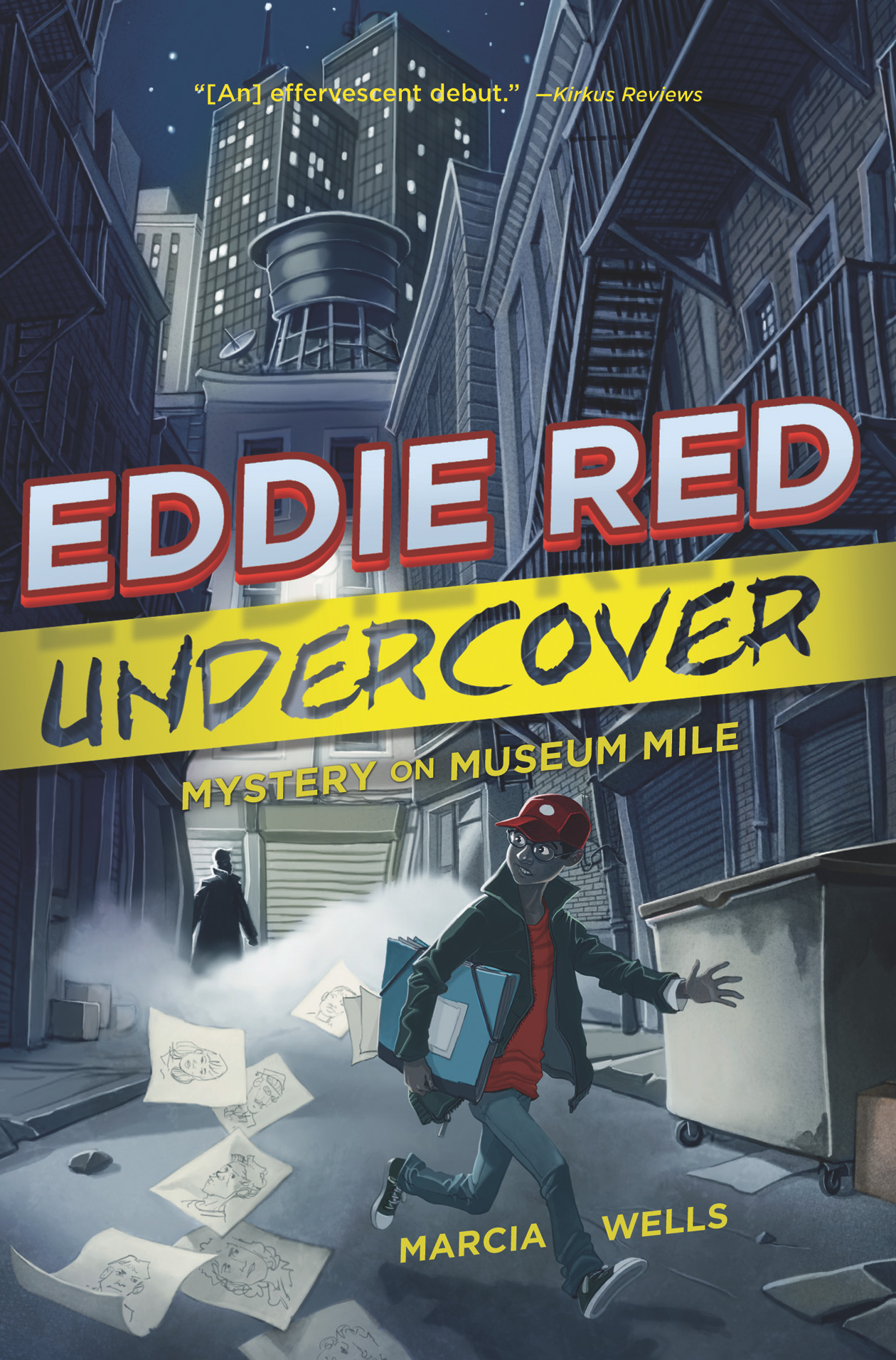 Eddie Red Undercover: Mystery on Museum Mile-9780544439405