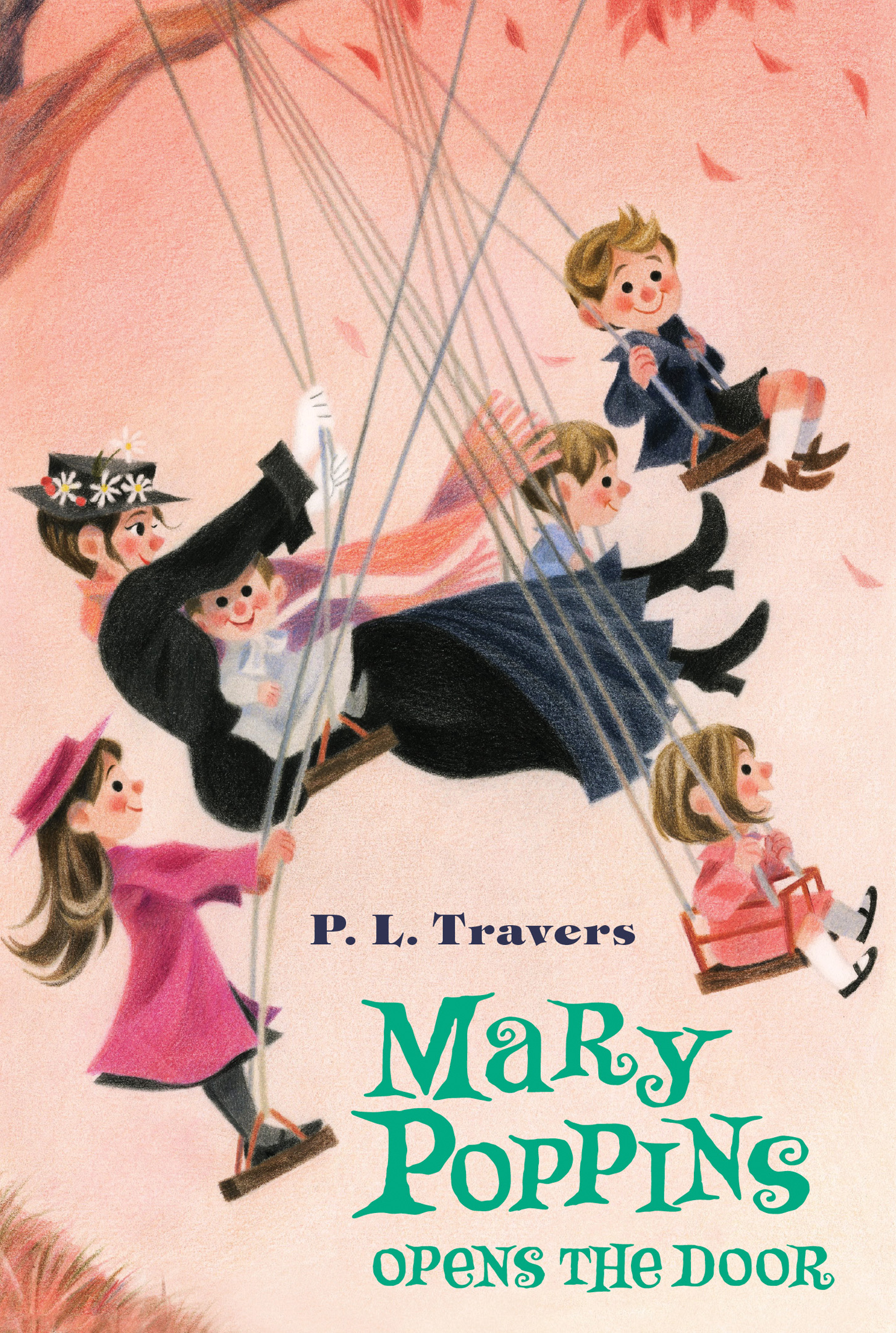 Mary Poppins Opens the Door-9780544439580