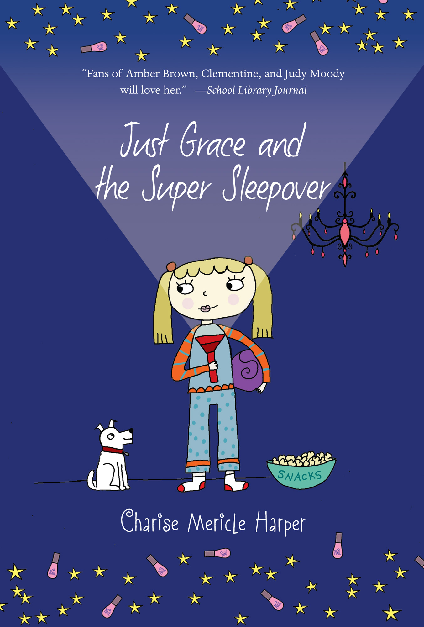Just Grace and the Super Sleepover-9780544456006
