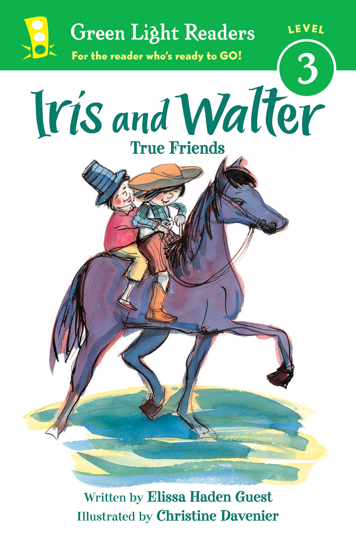 Iris and Walter: True Friends-9780544456037