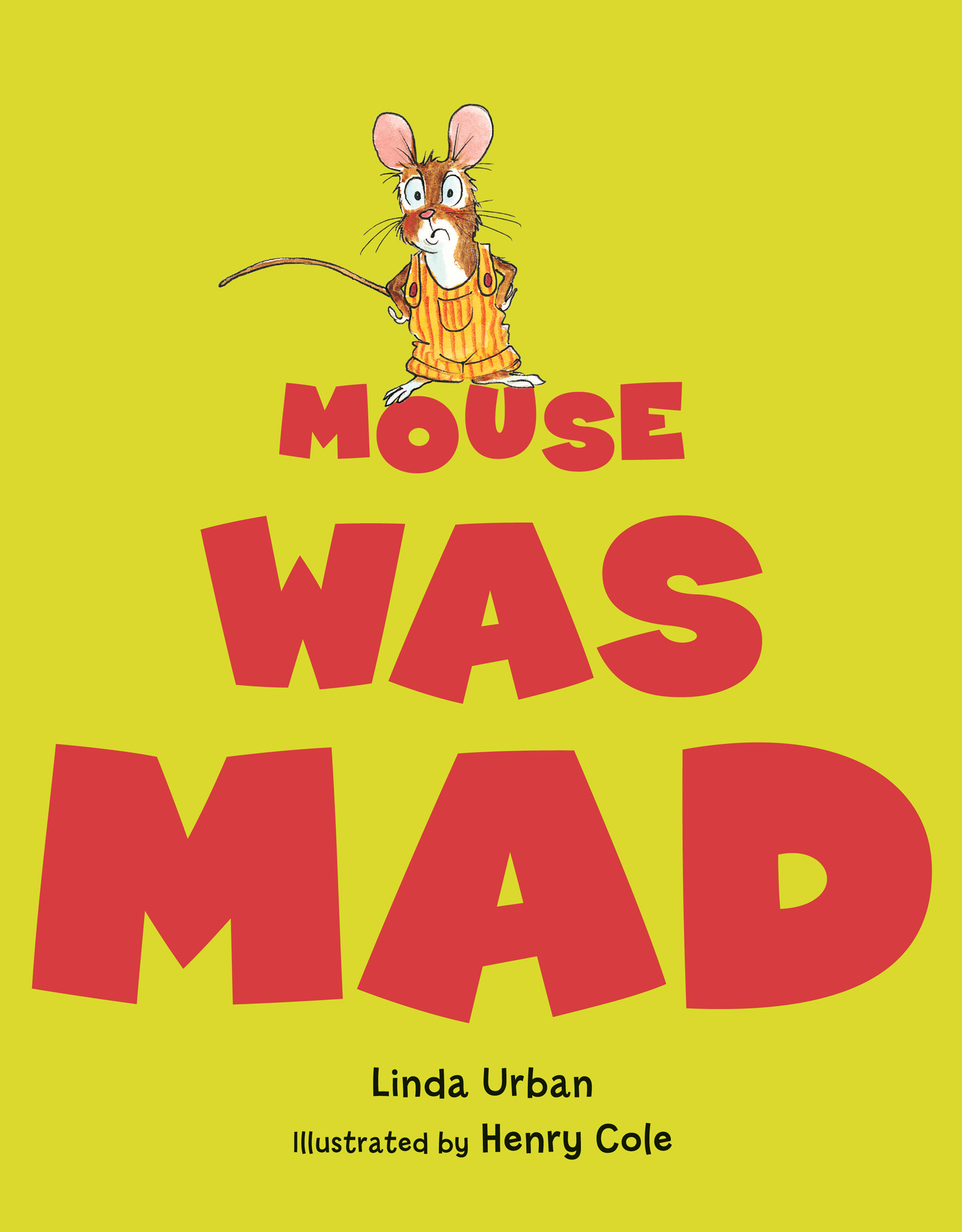 Mouse Was Mad Big Book-9780544456075