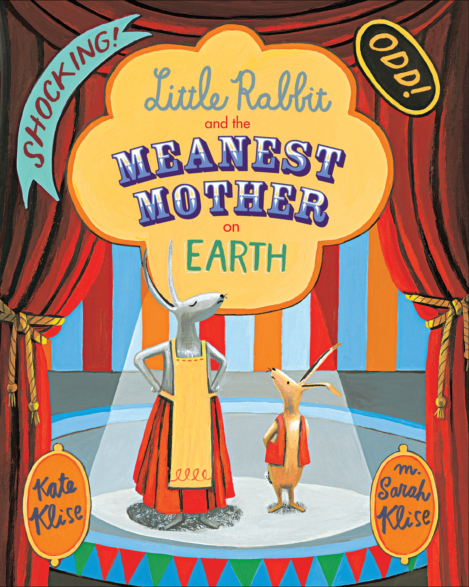 Little Rabbit and the Meanest Mother on Earth-9780544456112