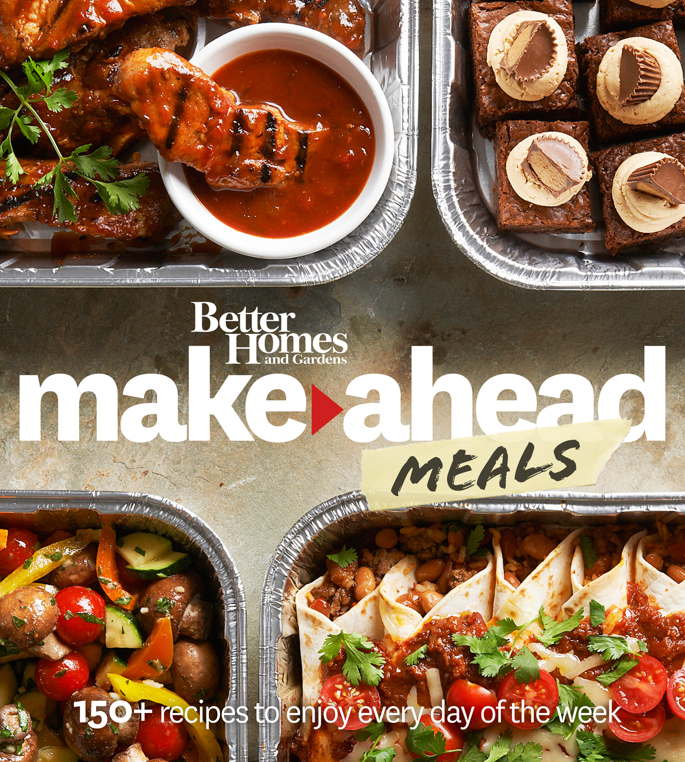 Better Homes and Gardens Make-Ahead Meals-9780544456167