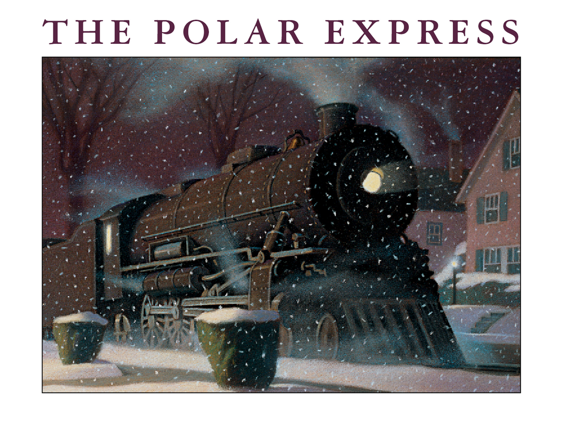 The Polar Express big book-9780544457980