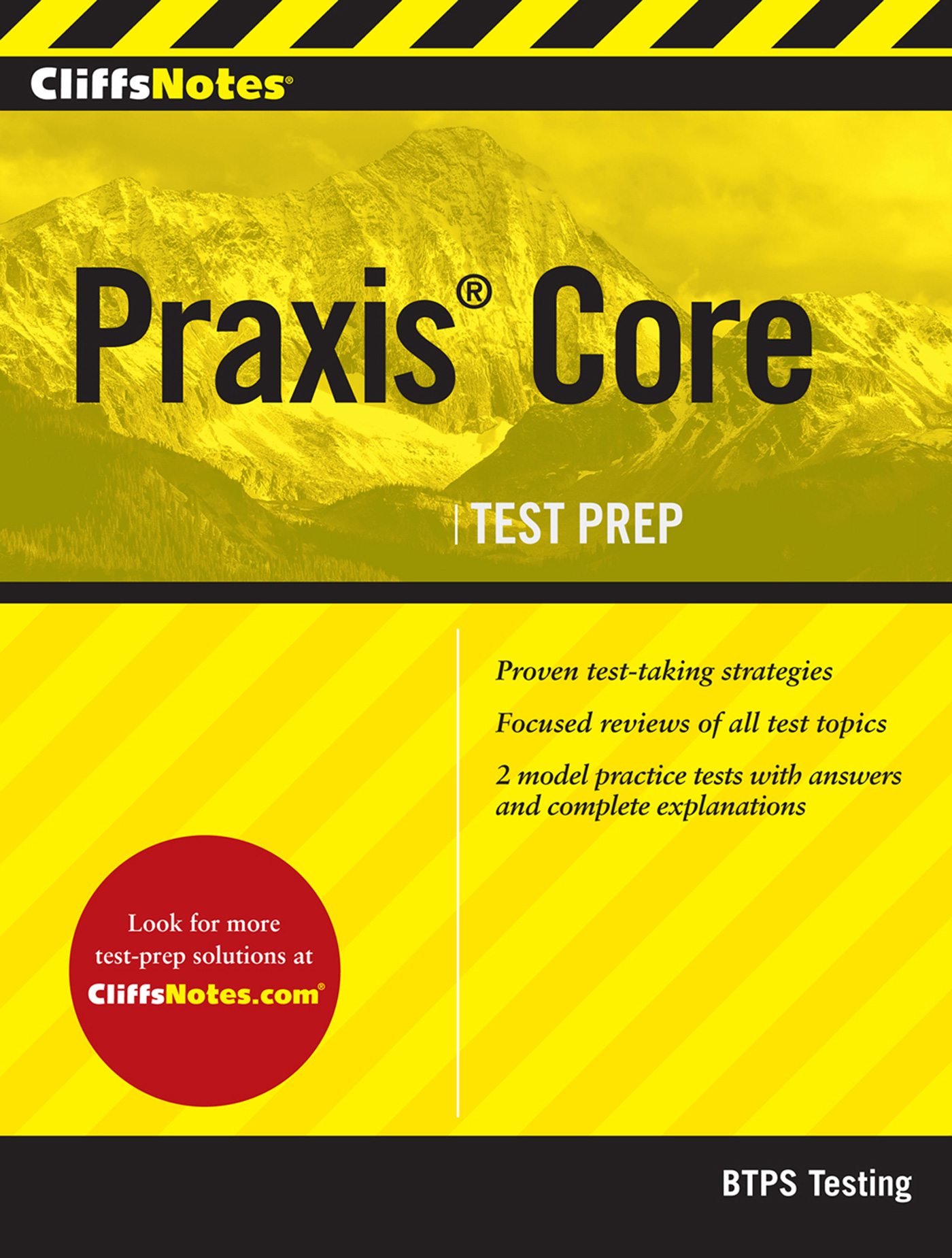 CliffsNotes Praxis Core-9780544480834