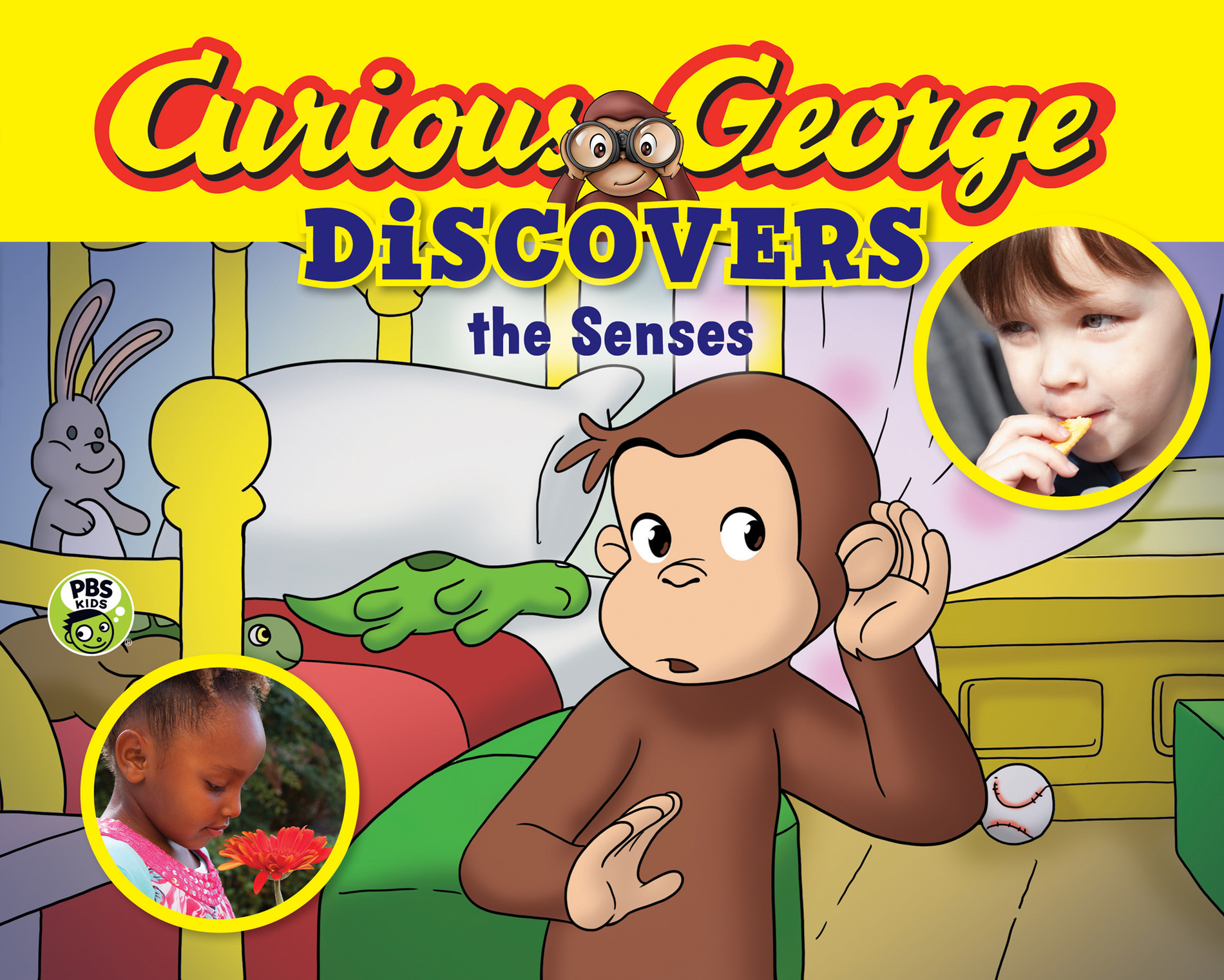 Curious George Discovers the Senses (science storybook)-9780544500235