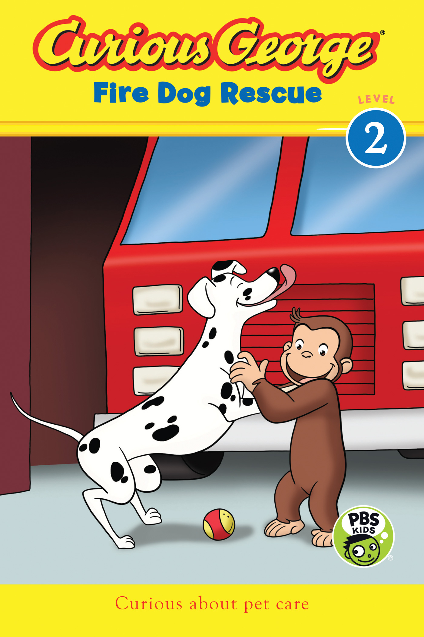 Curious George Fire Dog Rescue (CGTV reader)-9780544503205