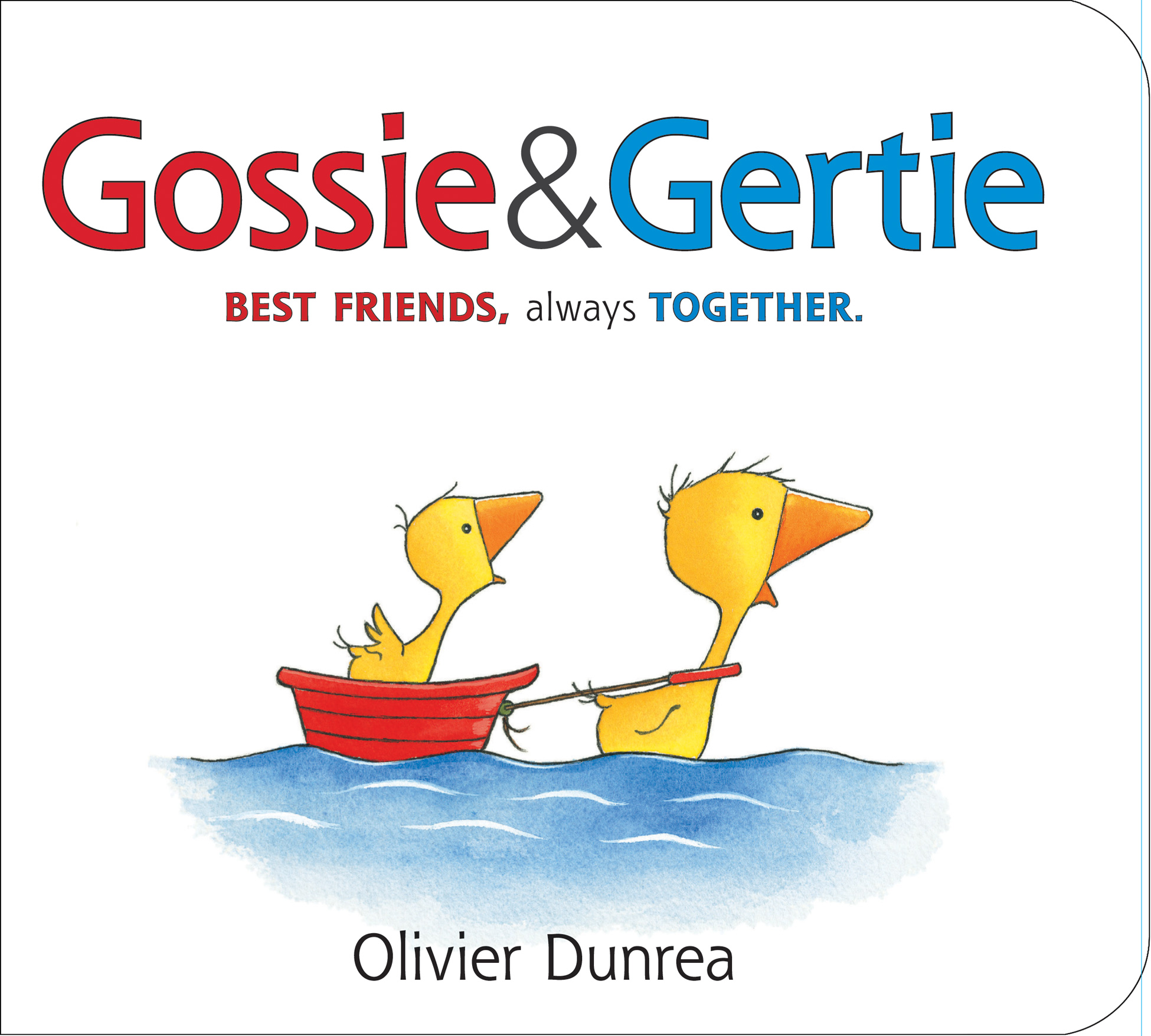 Gossie & Gertie padded board book-9780544506442