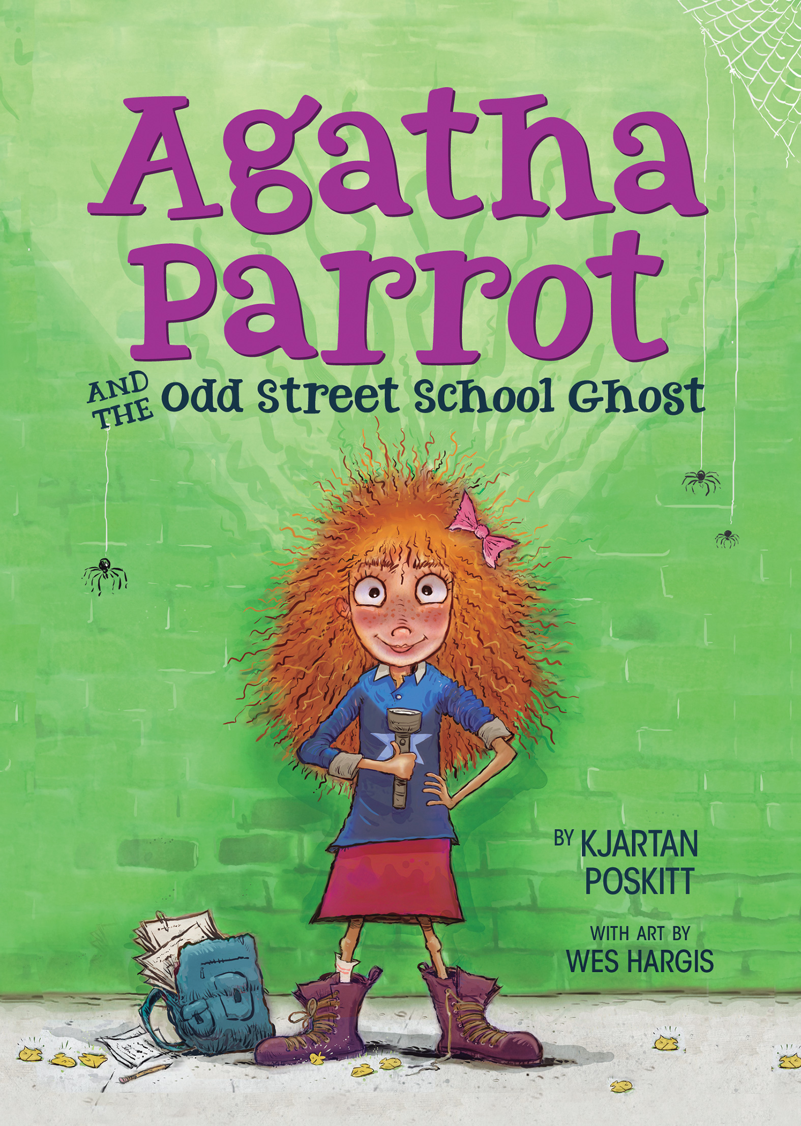Agatha Parrot and the Odd Street School Ghost-9780544506725