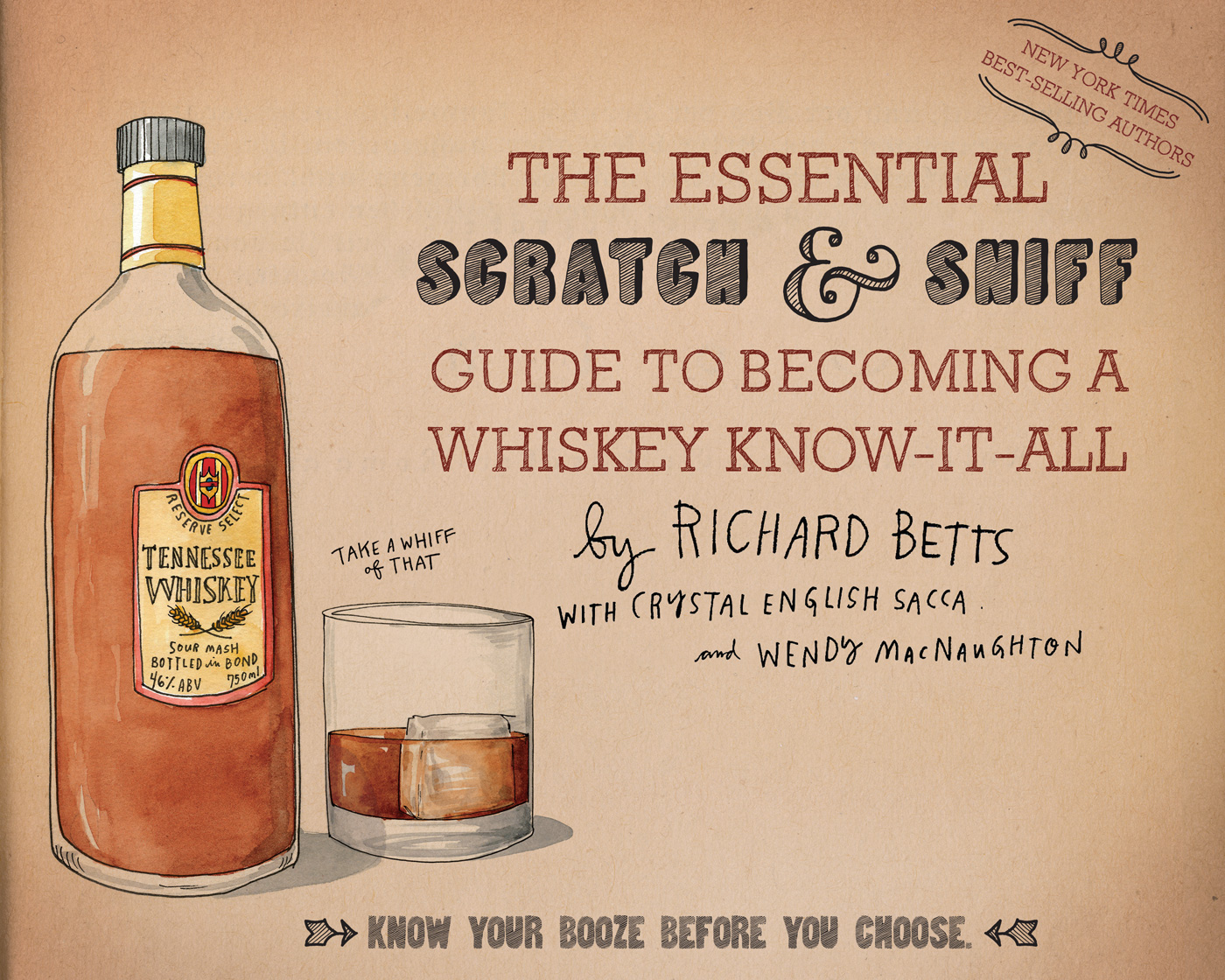 The Essential Scratch & Sniff Guide to Becoming a Whiskey Know-It-All-9780544520608
