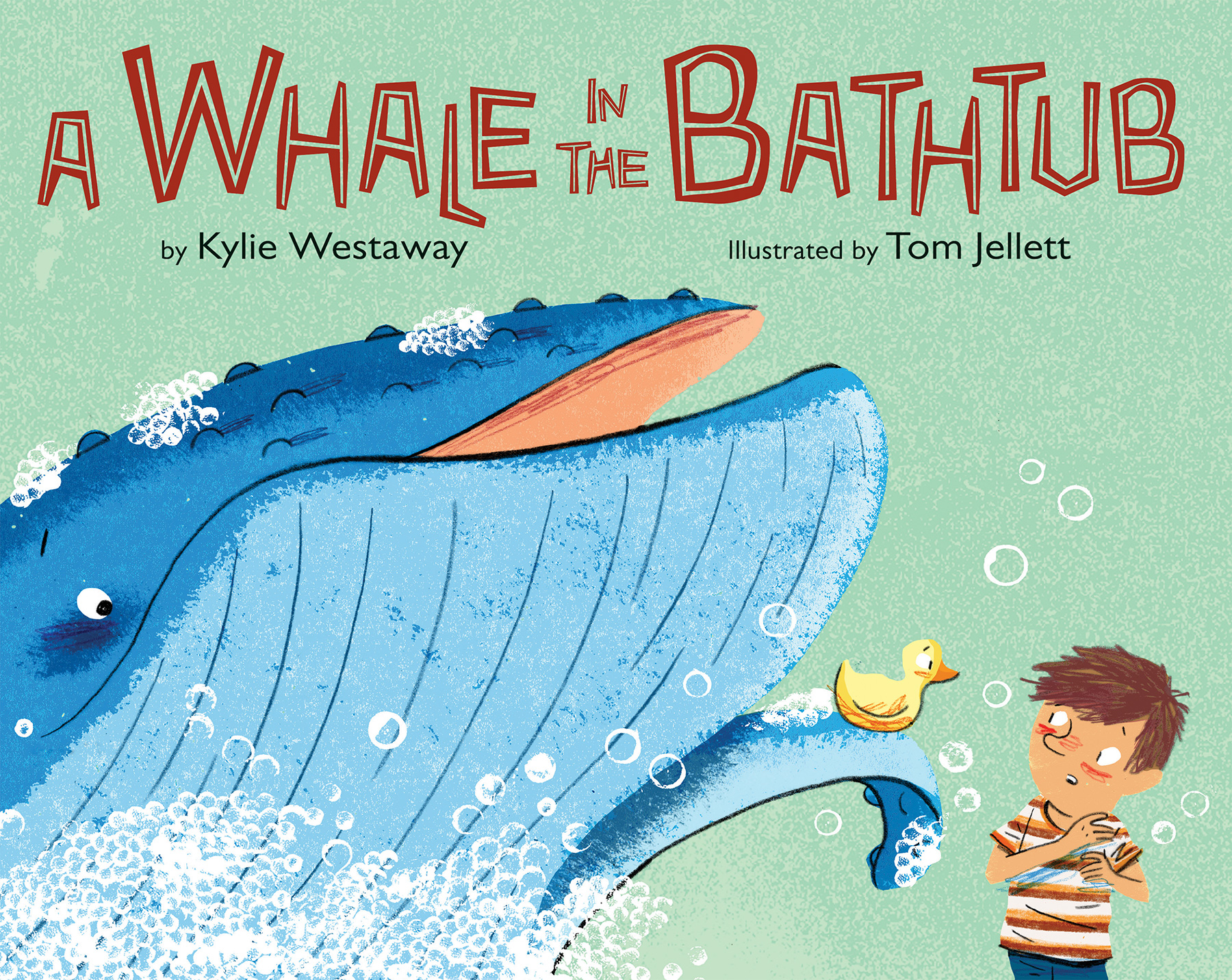 A Whale in the Bathtub-9780544535350