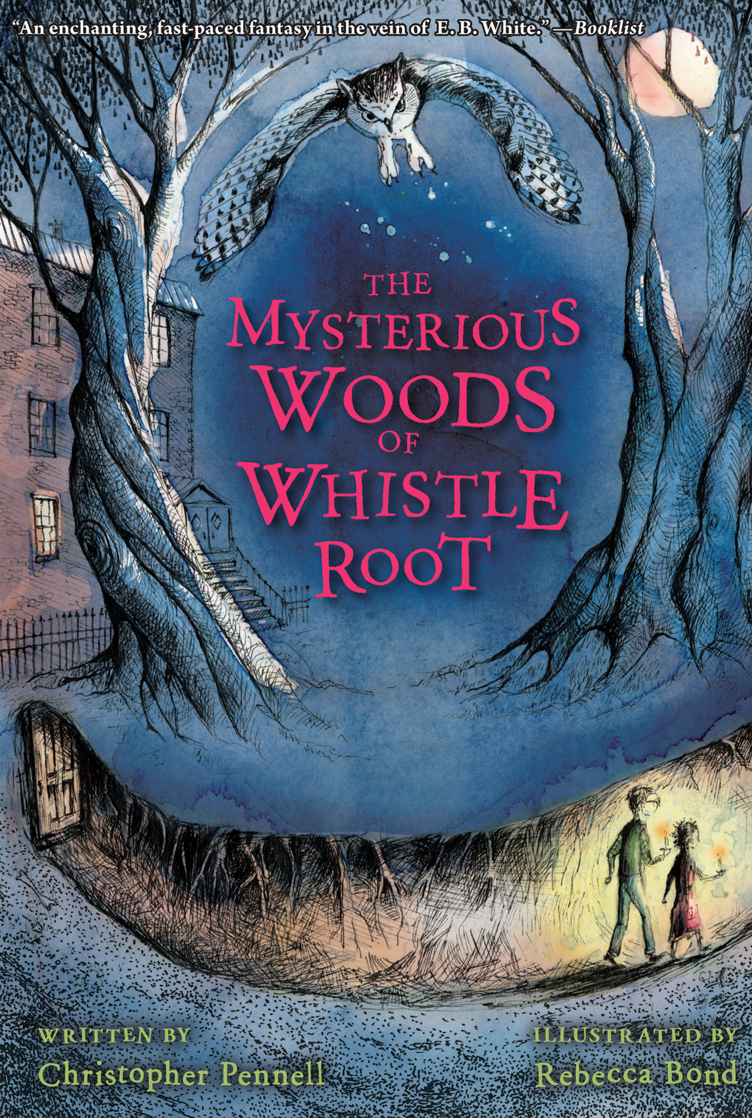 The Mysterious Woods of Whistle Root-9780544540644