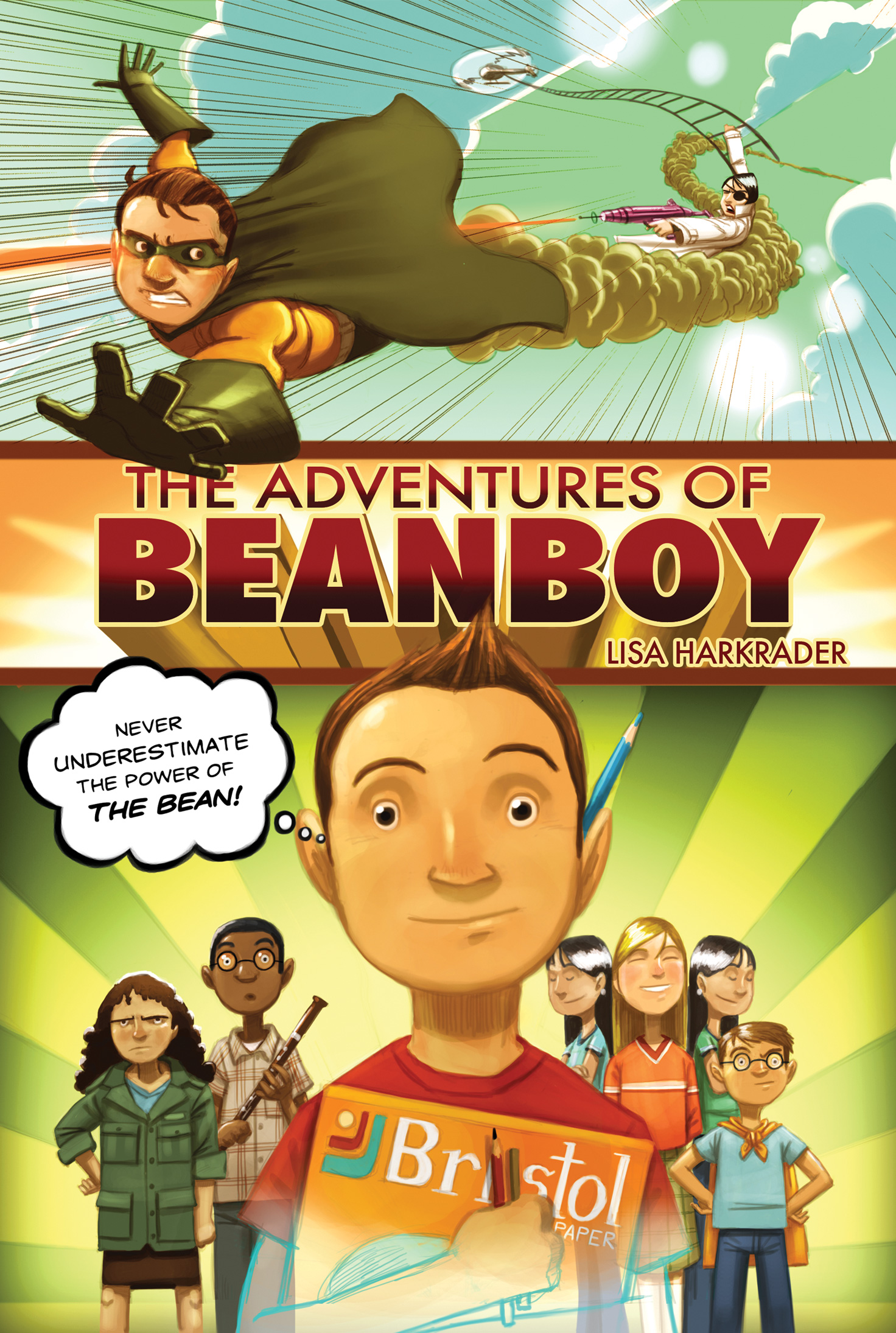 The Adventures of Beanboy-9780544540736